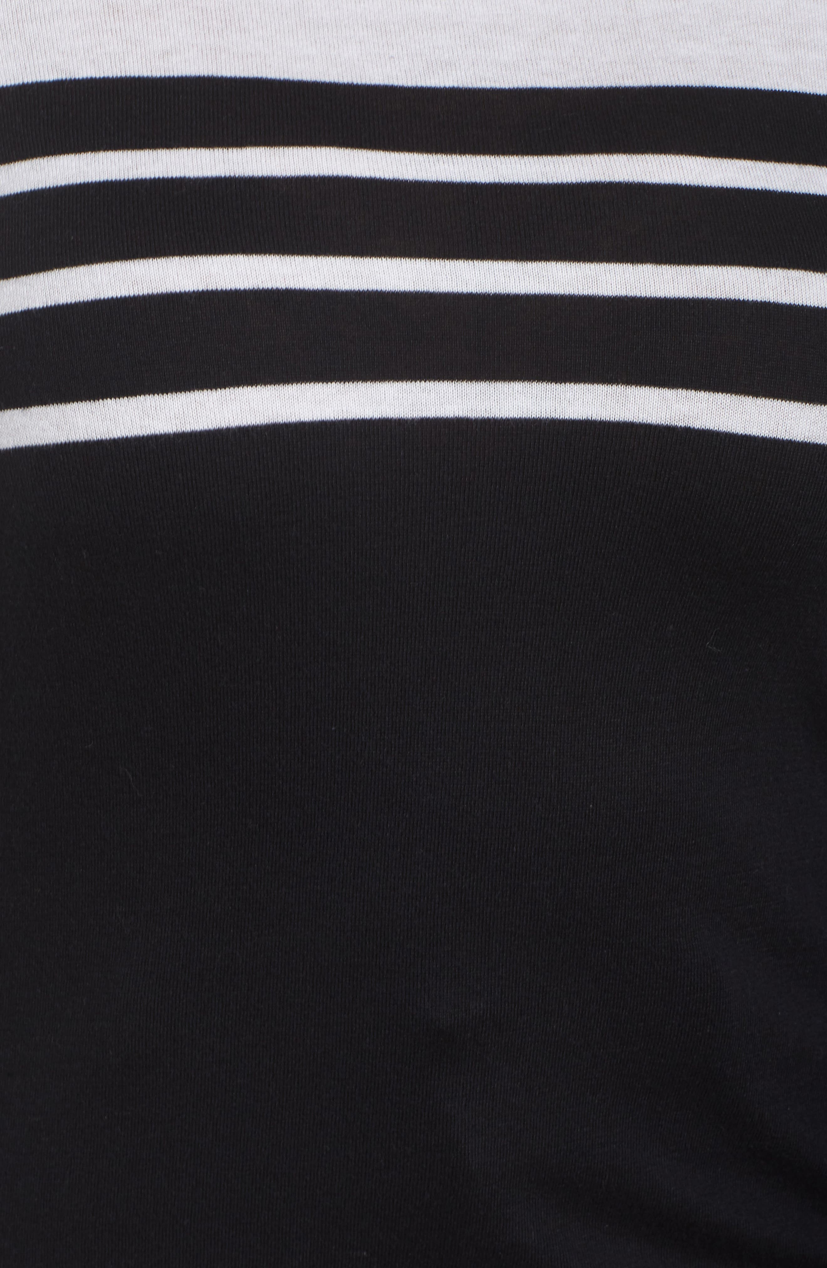 Alternate Image 5  - Vince Camuto Handkerchief Sleeve Stripe Sweater (Plus Size)
