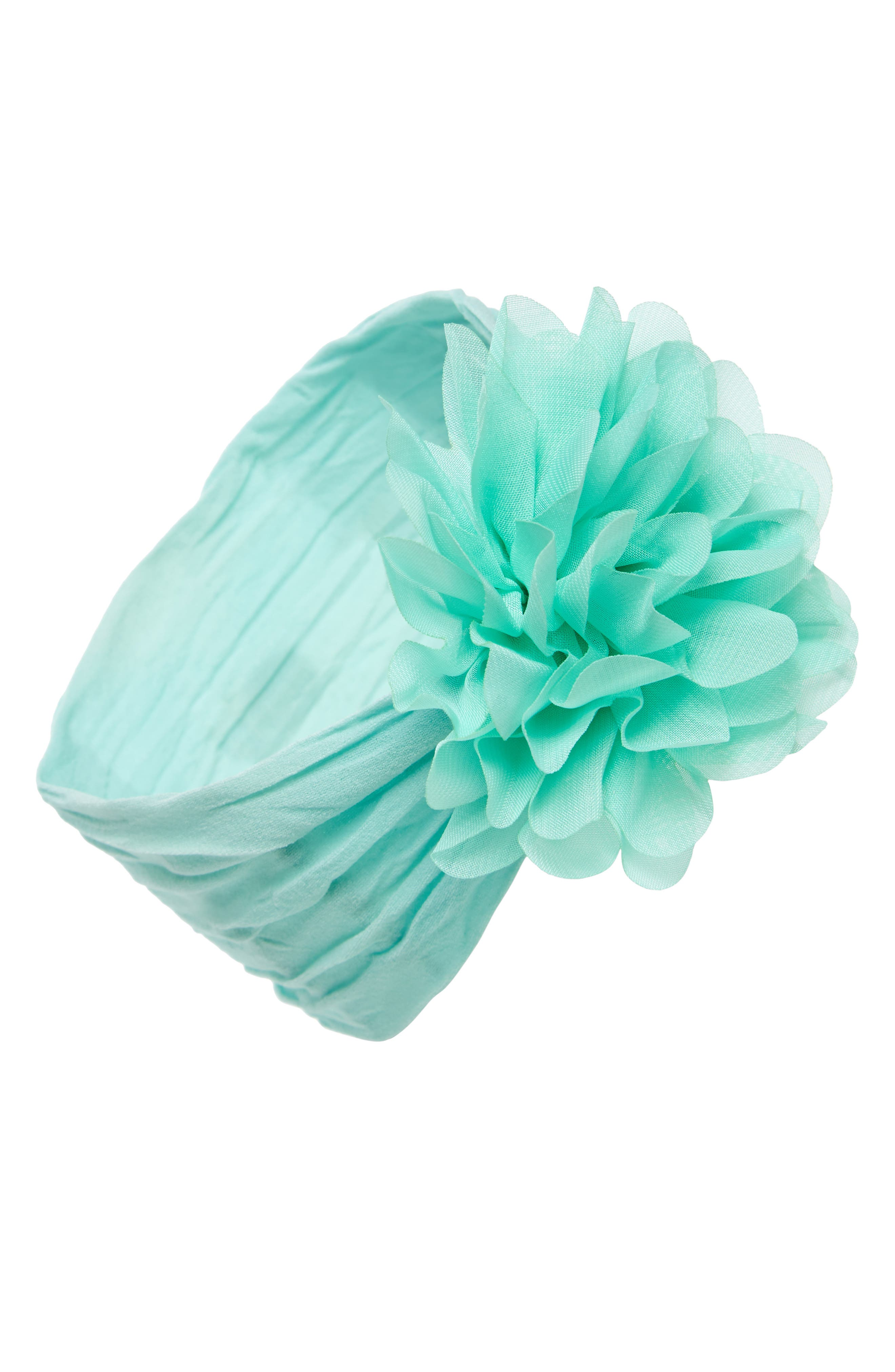 Alternate Image 1 Selected - Baby Bling Flower Headband (Baby Girls)