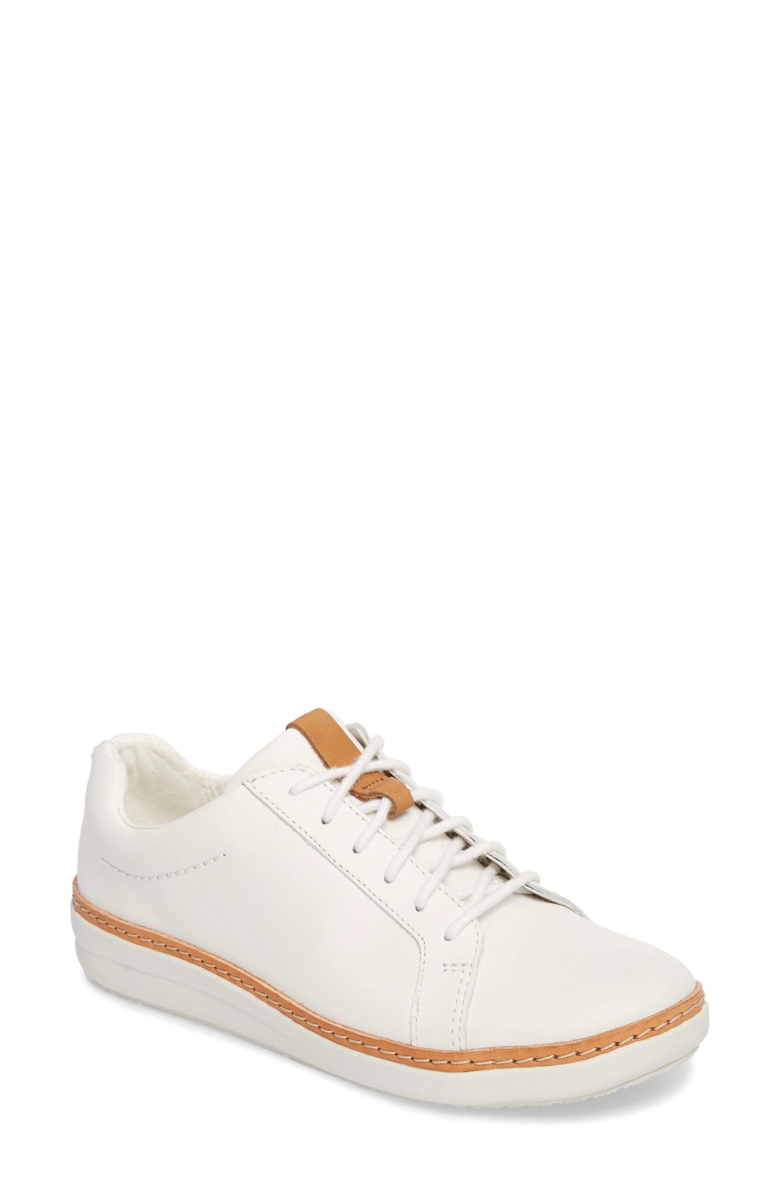 Alternate Image 1 Selected - Clarks® Amberlee Rosa Sneaker (Women)