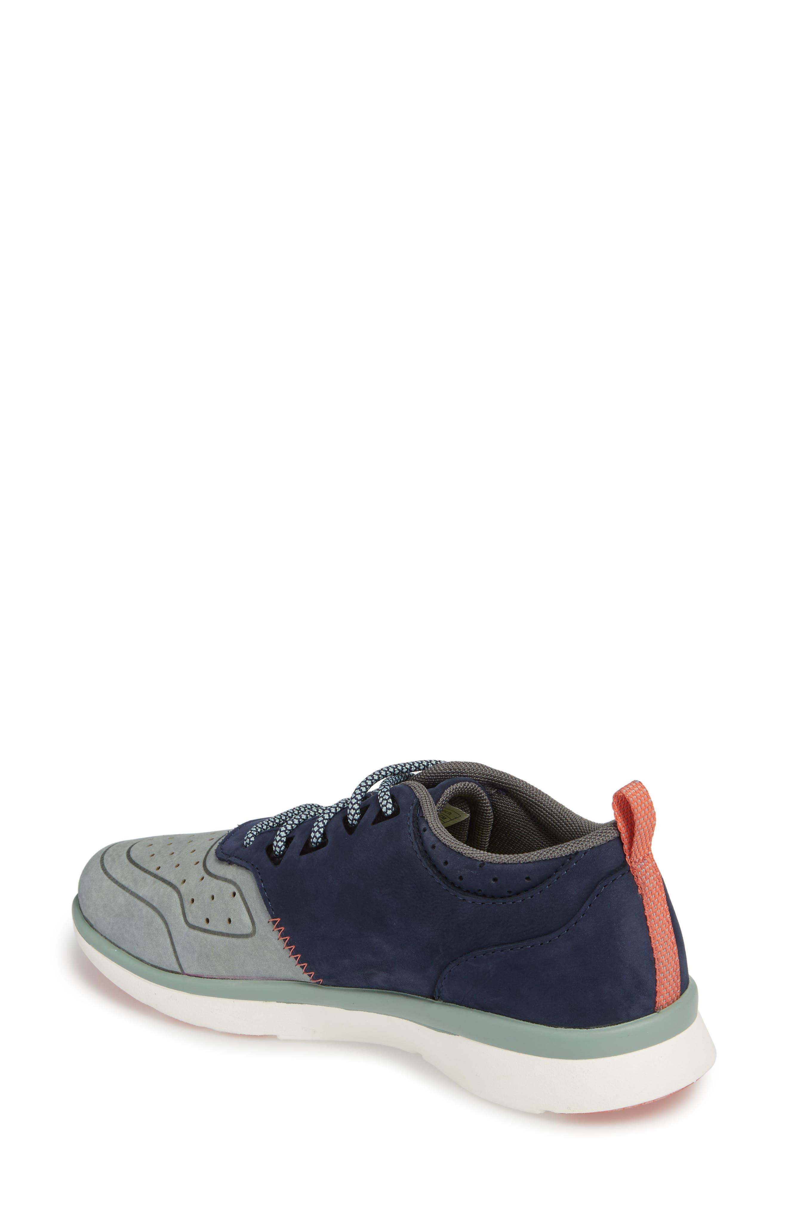 Beech Sneaker,                             Alternate thumbnail 2, color,                             Blue Leather