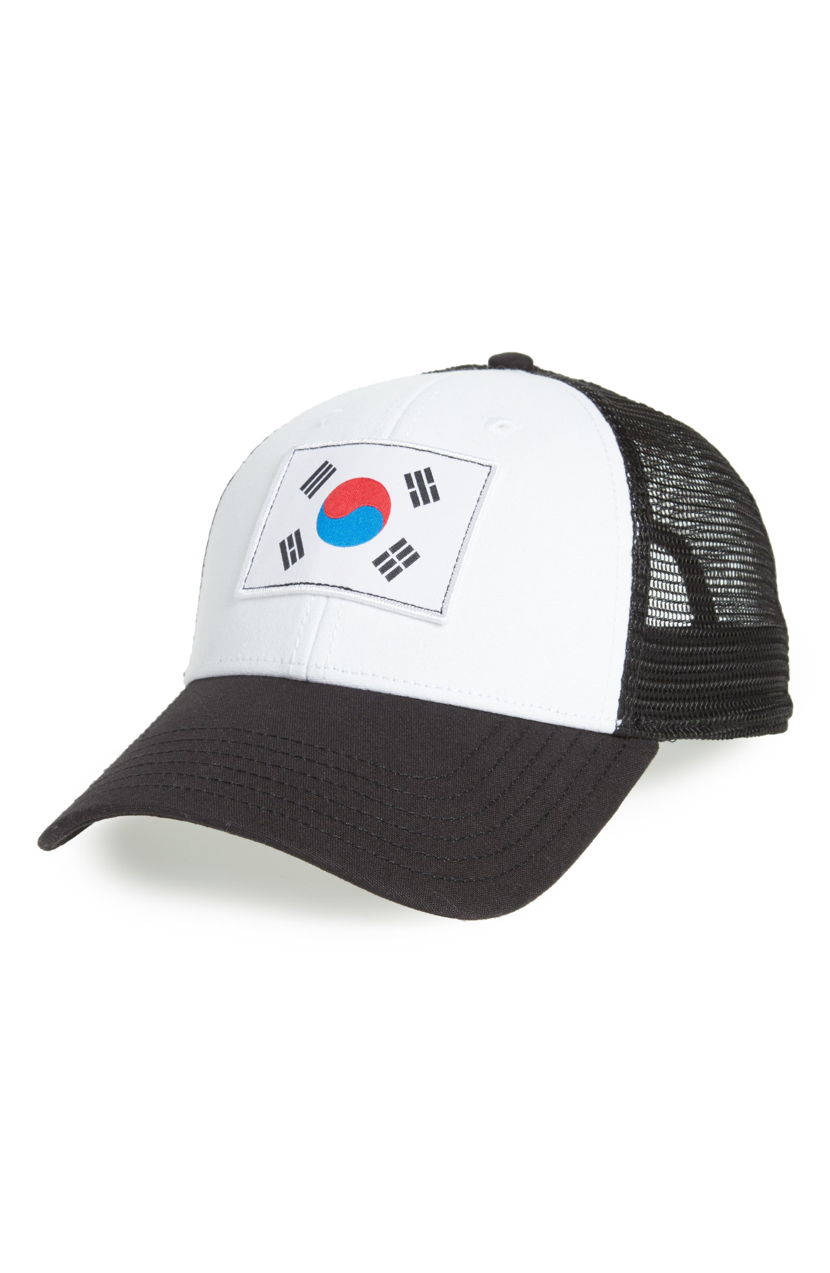 International Collection Baseball Cap,                         Main,                         color, Tnf White/ Tnf Black