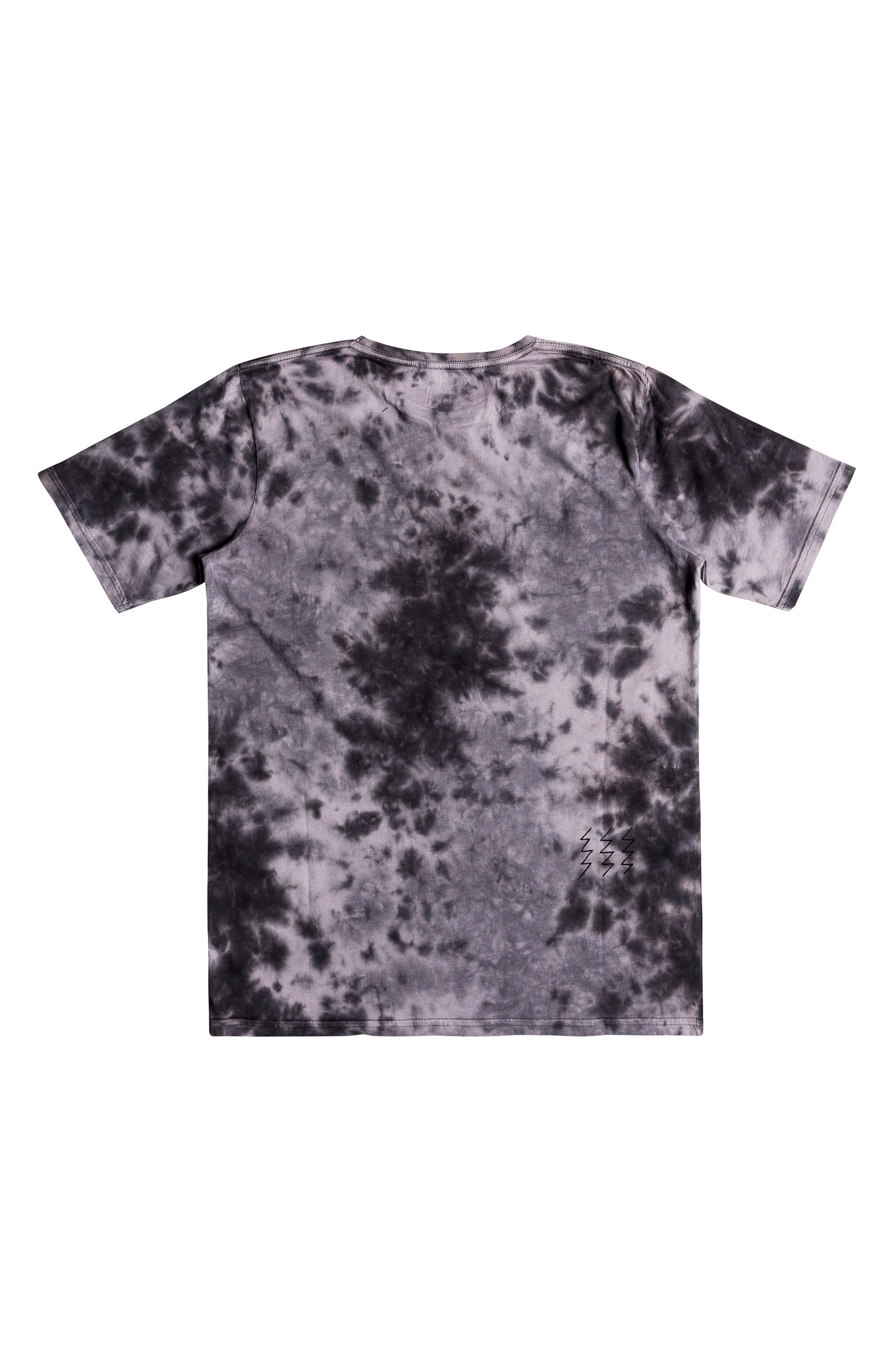 Gibus Moon Graphic T-Shirt,                             Alternate thumbnail 2, color,                             Iron Gate Tie Dye