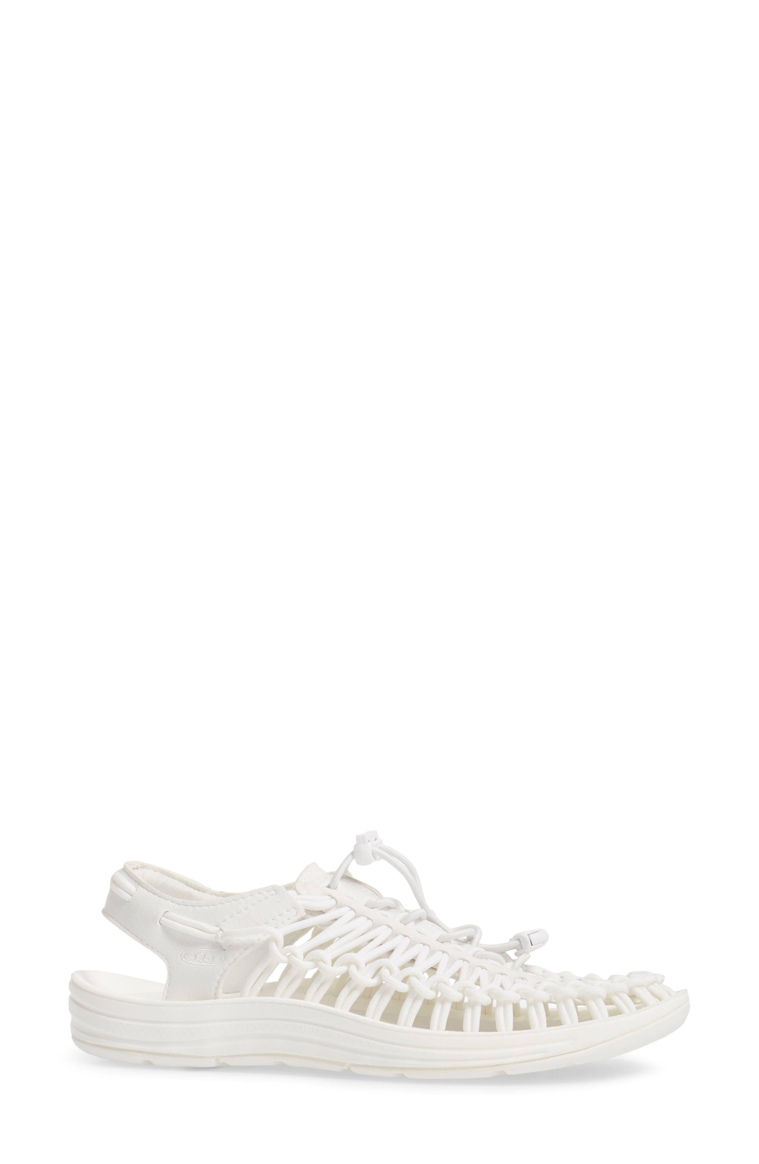 'Uneek' Water Sneaker,                             Alternate thumbnail 3, color,                             Star White