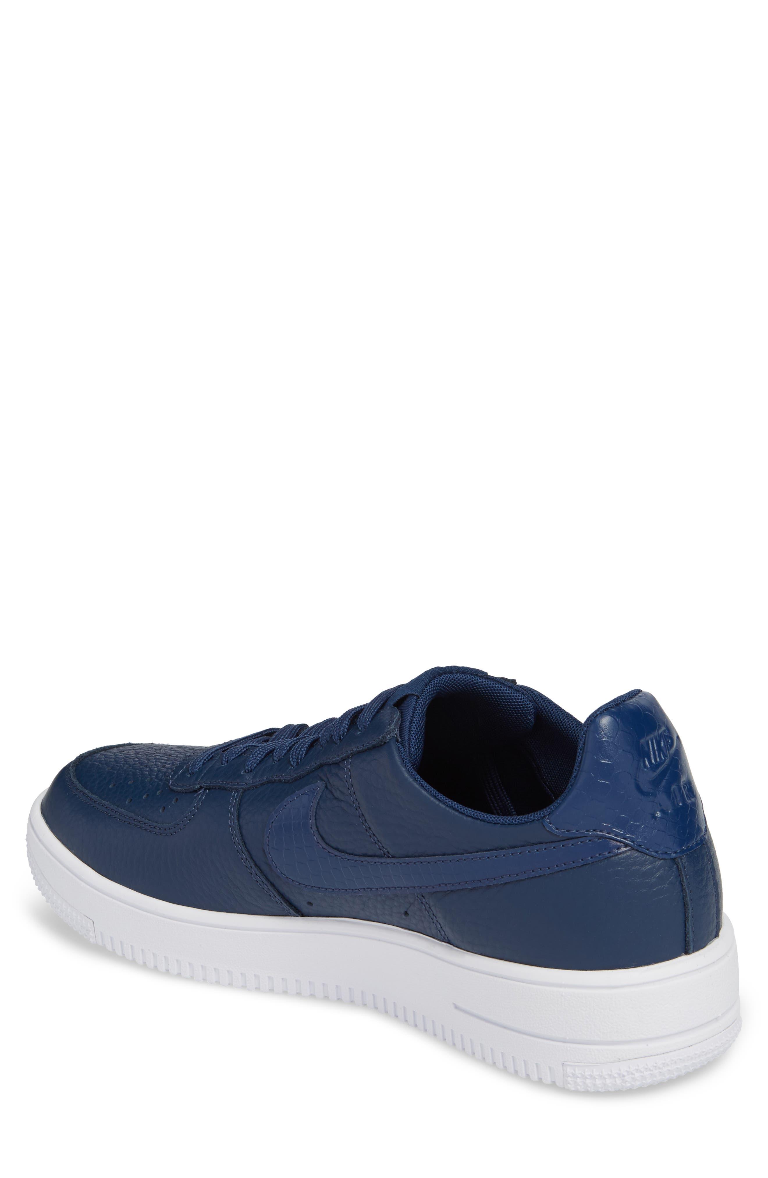 Air Force 1 Ultraforce Sneaker,                             Alternate thumbnail 2, color,                             Navy/ Navy/ White