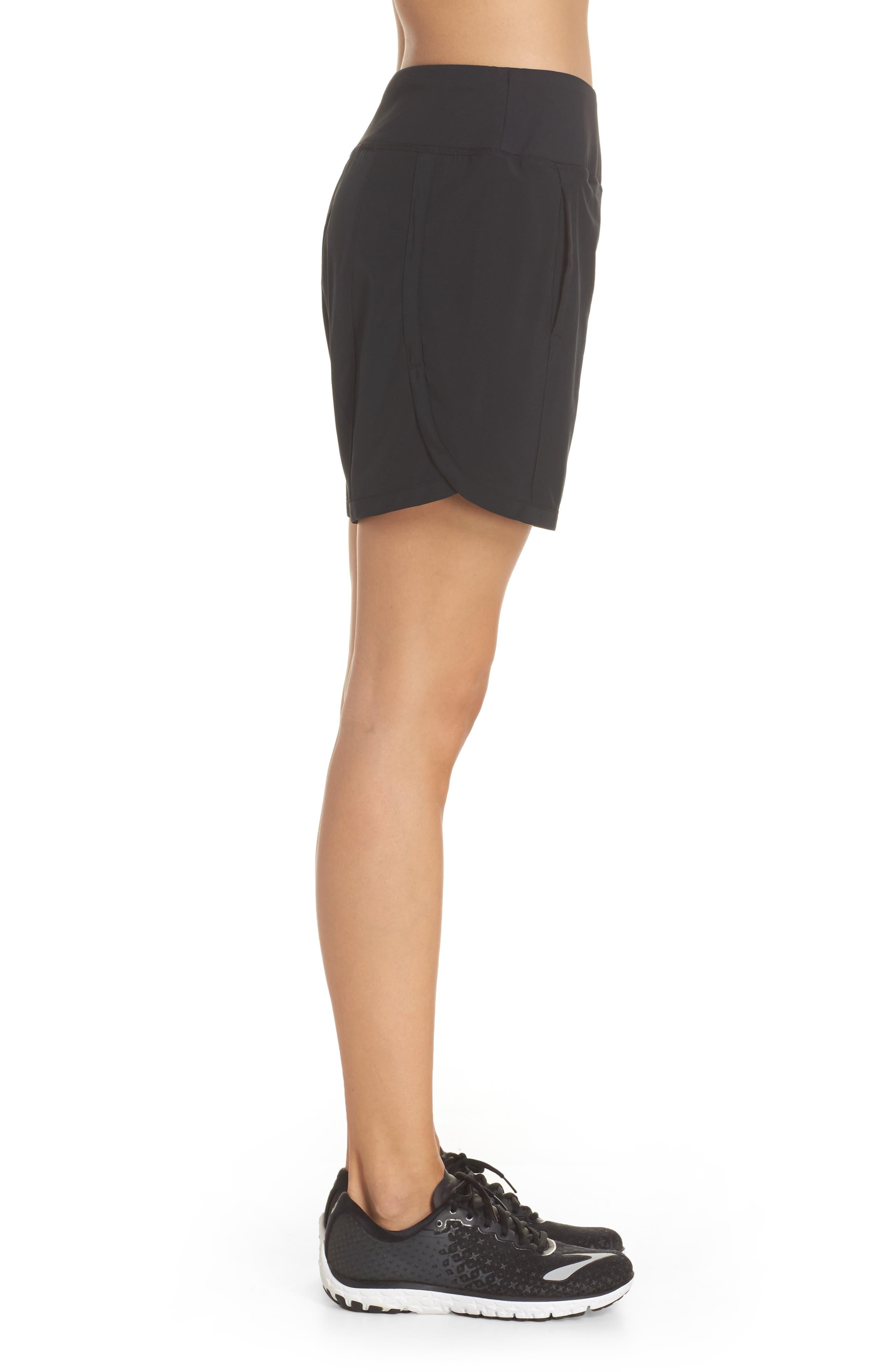 Chaser 7 Shorts,                             Alternate thumbnail 3, color,                             Black