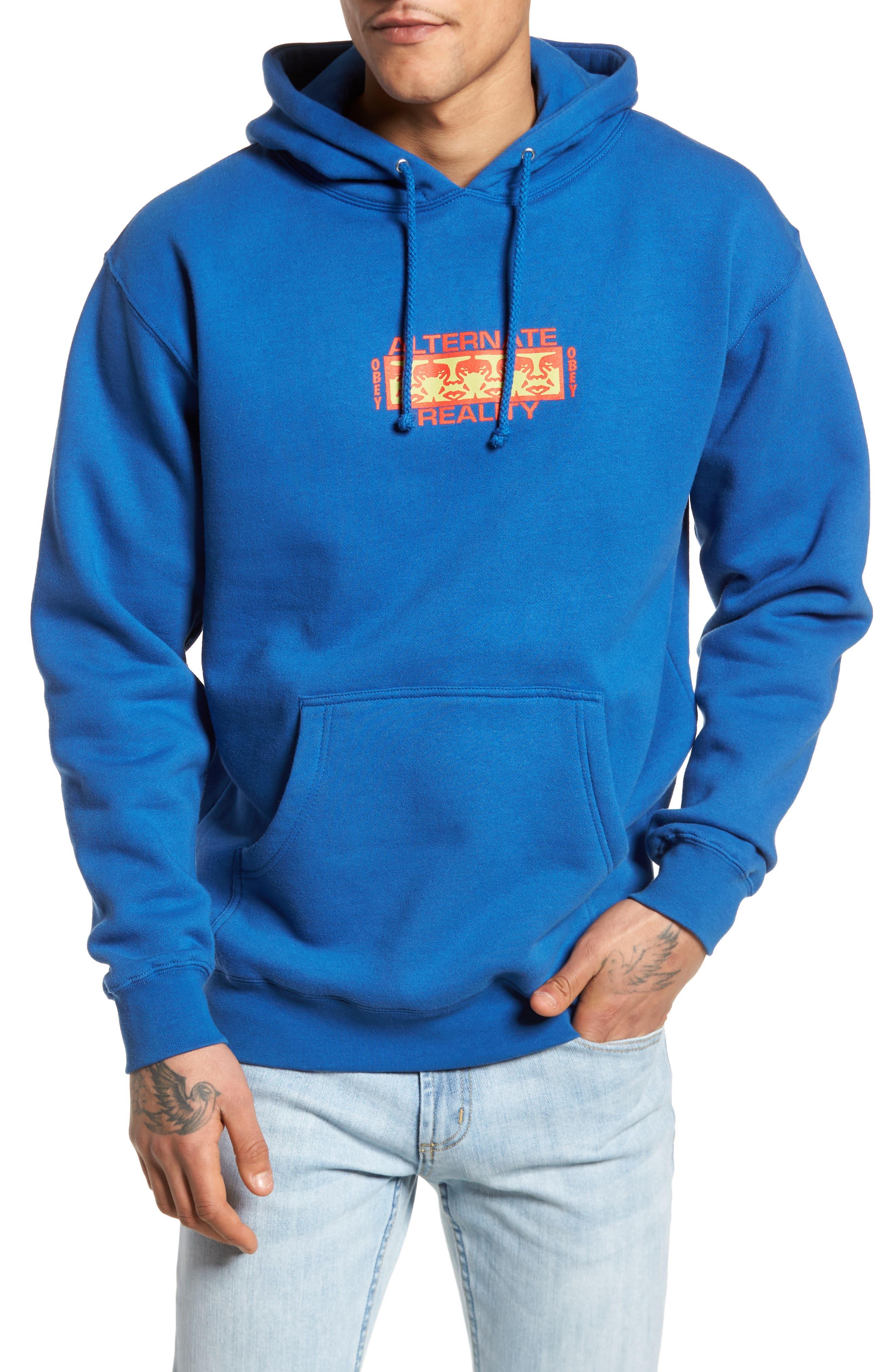 Alternate Reality Hoodie Sweatshirt,                             Main thumbnail 1, color,                             Royal Blue