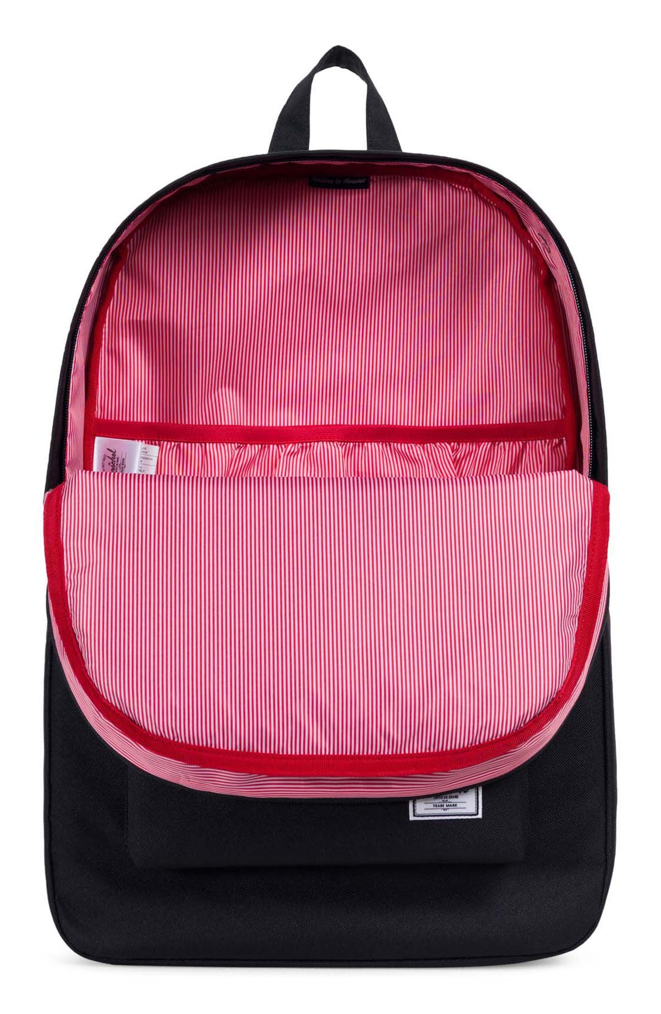 Heritage Reflective Backpack,                             Alternate thumbnail 3, color,                             Black/ Woodland Camo