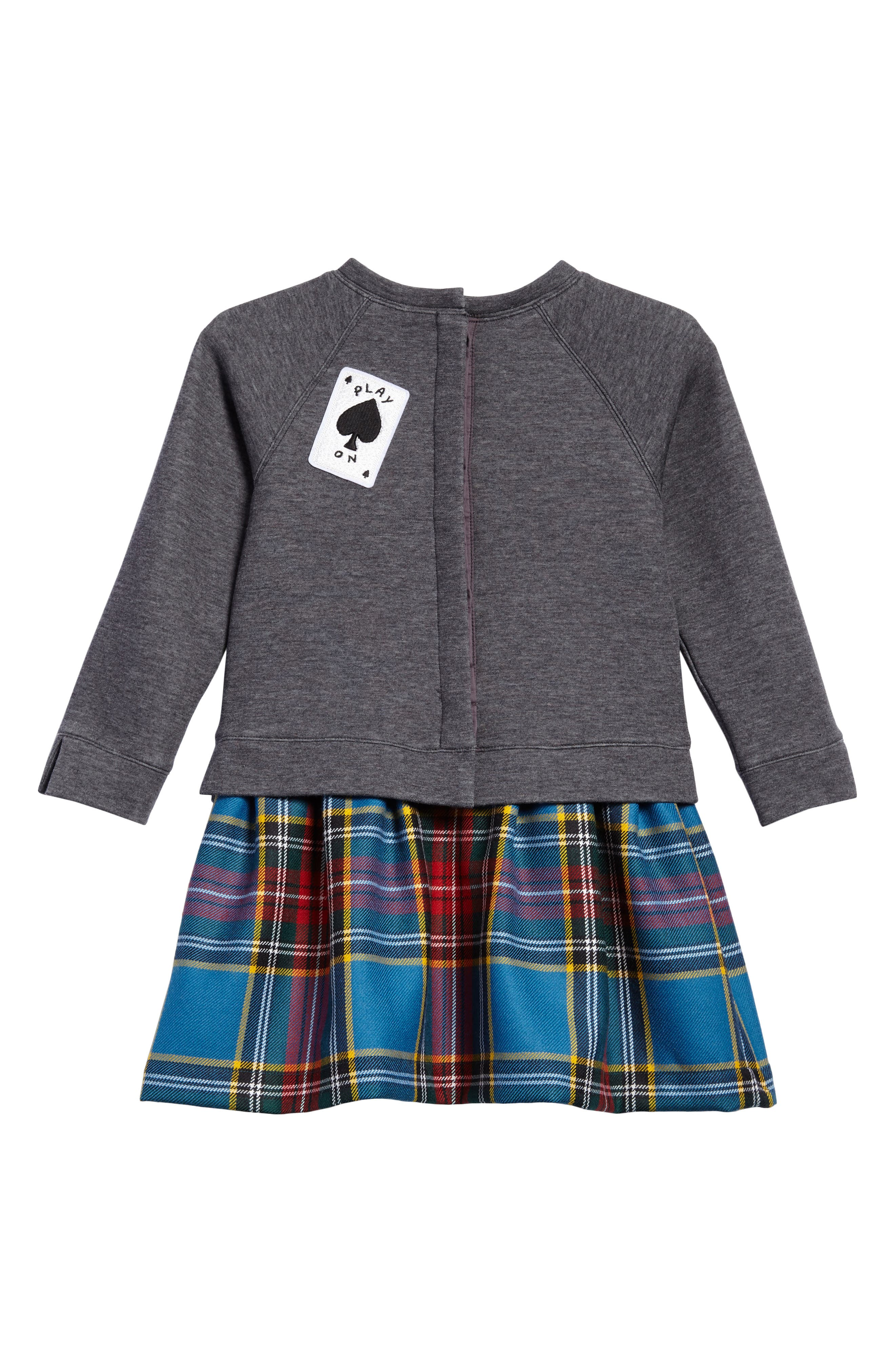 Alternate Image 2  - Burberry Mini Francine Dress (Baby Girls & Toddler Girls)