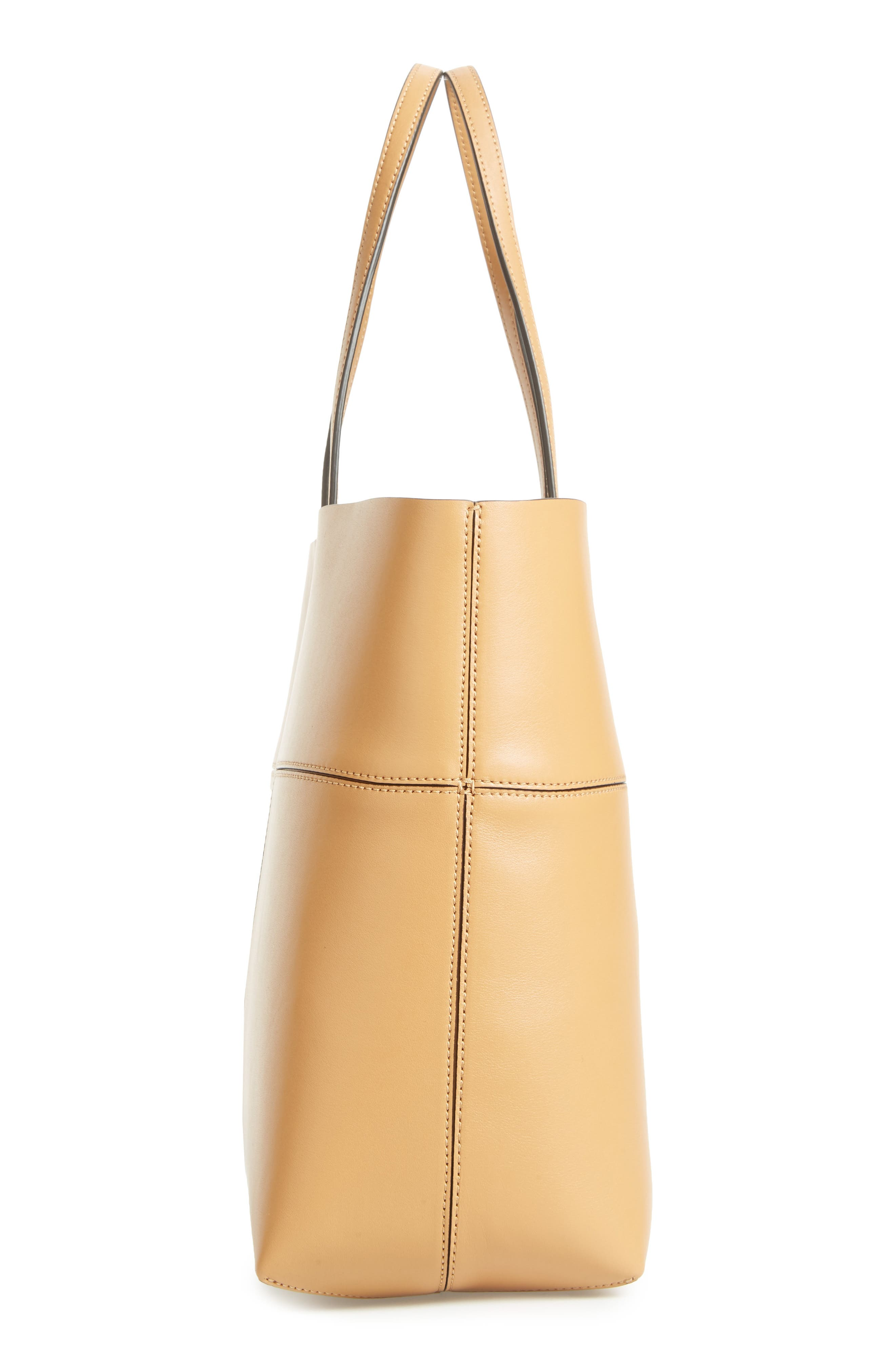 Alternate Image 5  - Tory Burch 'Block-T' Leather Tote