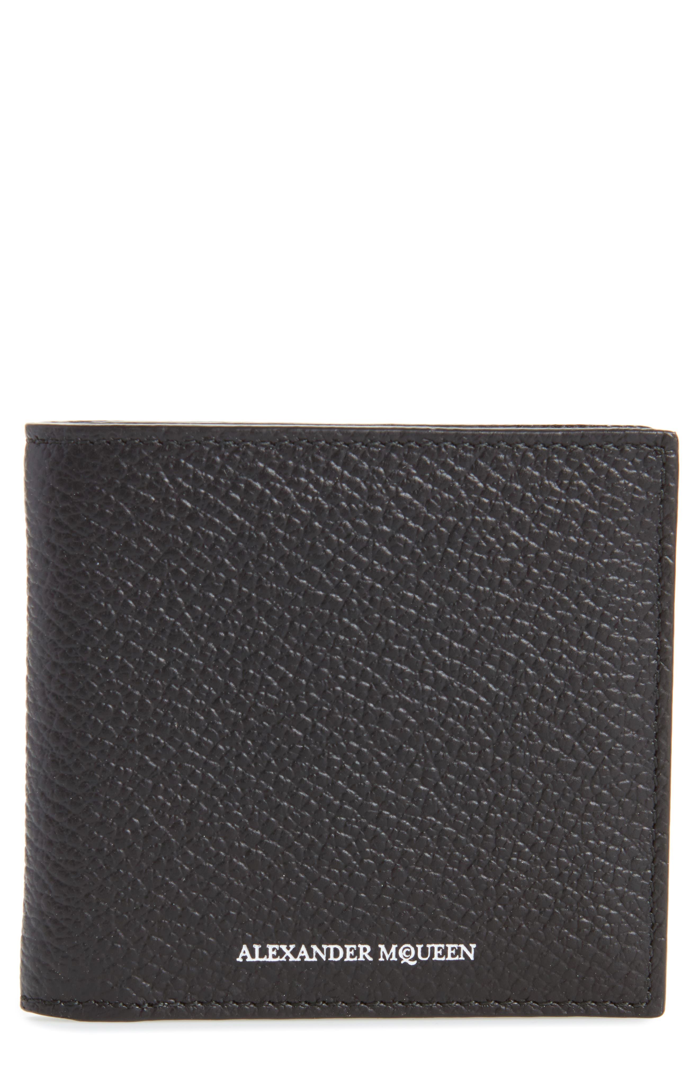 Main Image - Alexander McQueen Leather Billfold Wallet