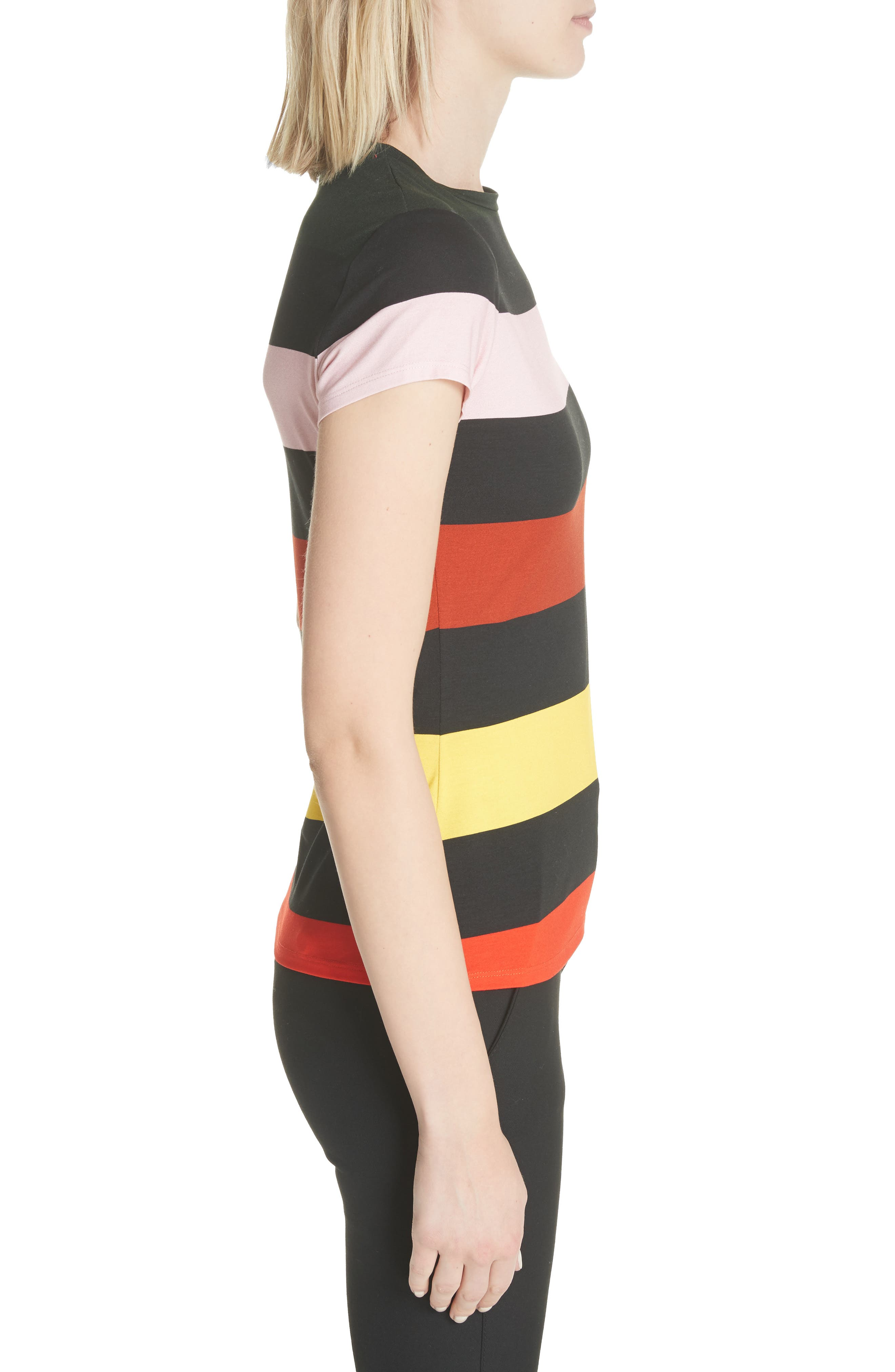 Alternate Image 3  - Ted Baker London Cruise Stripe Fitted Tee