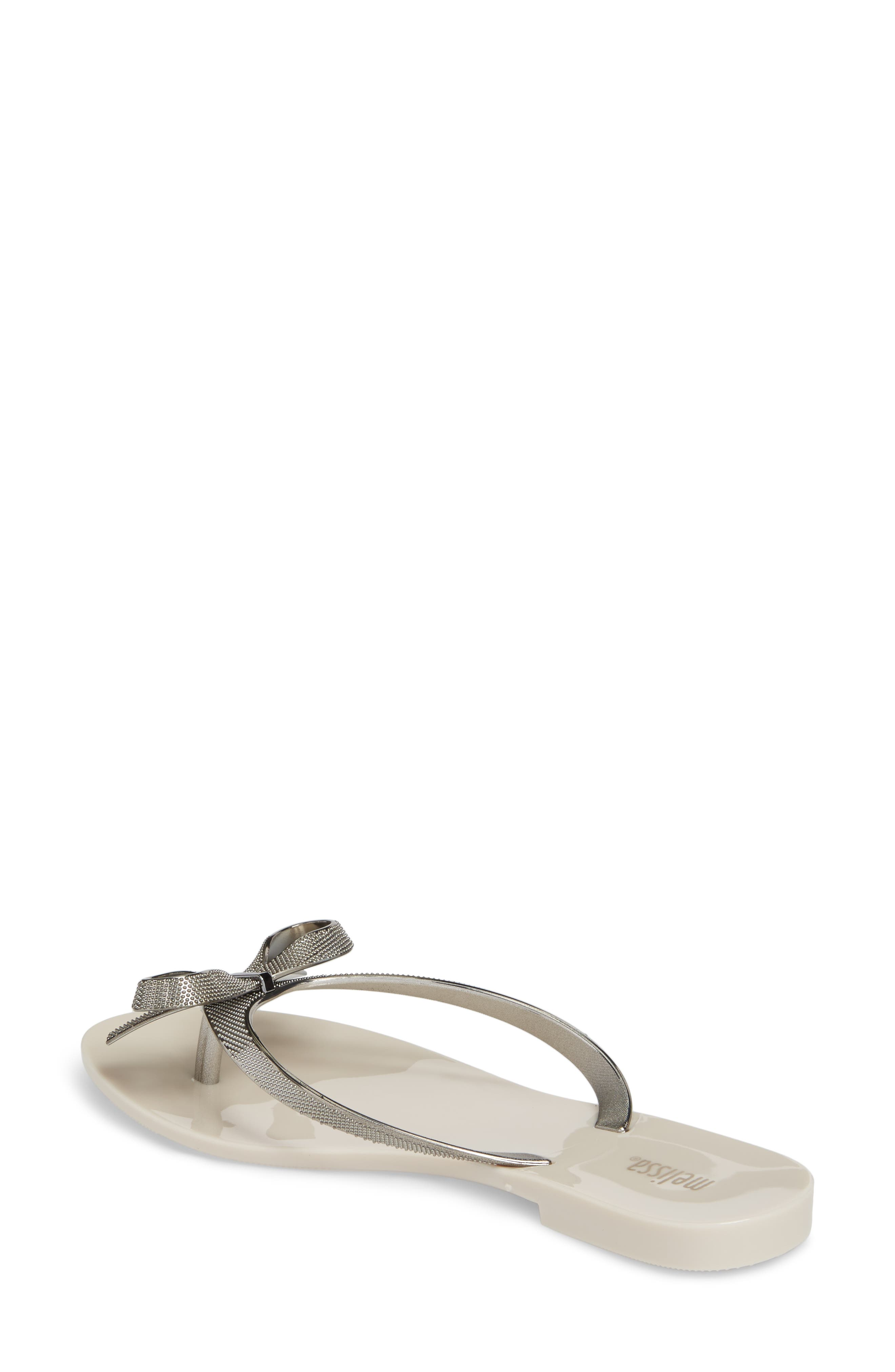 Alternate Image 2  - Melissa Harmonic Bow Chrome II Sandal (Women)
