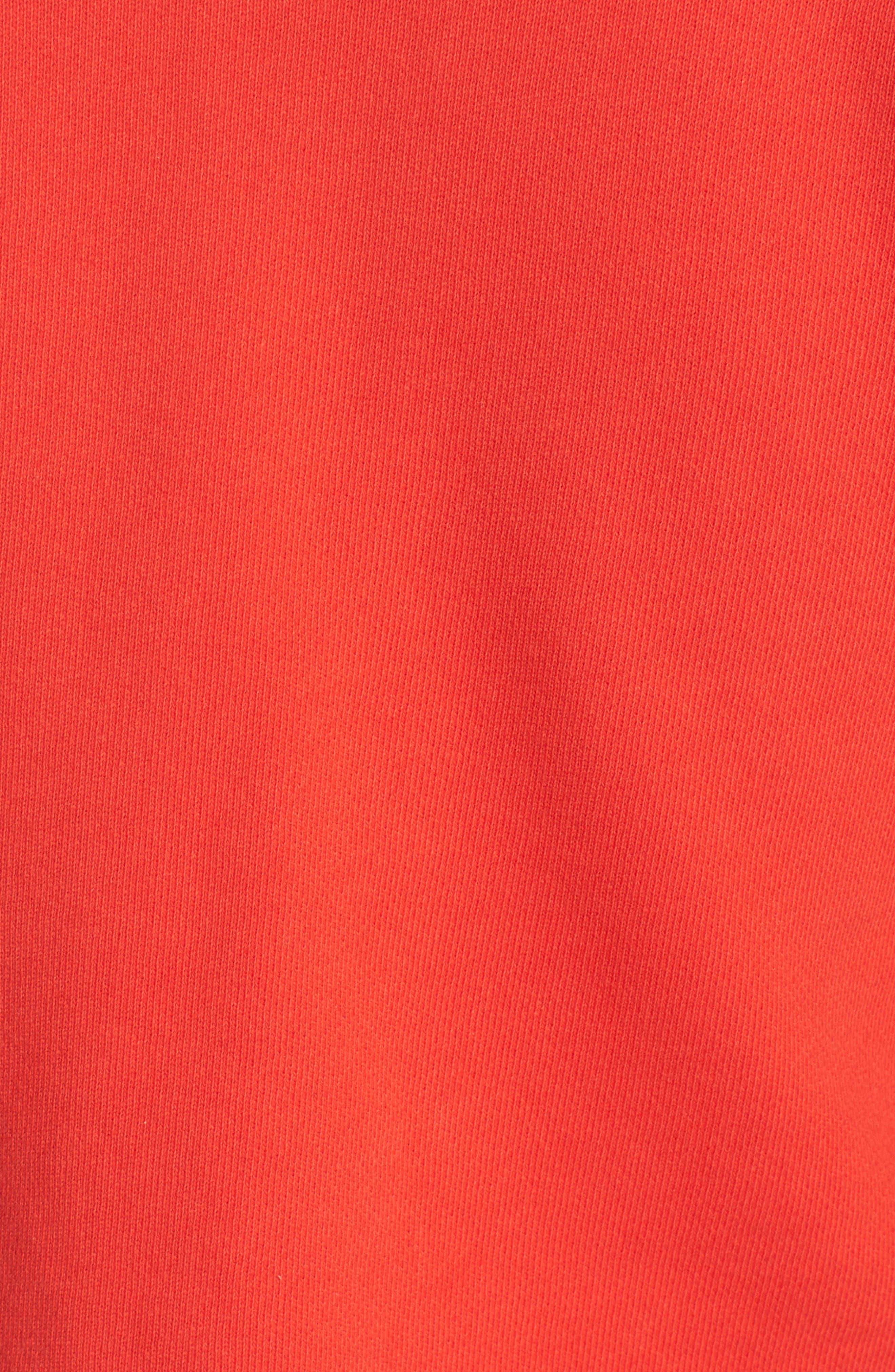 Alternate Image 5  - 7 For All Mankind® Flare Sleeve Crop Sweatshirt
