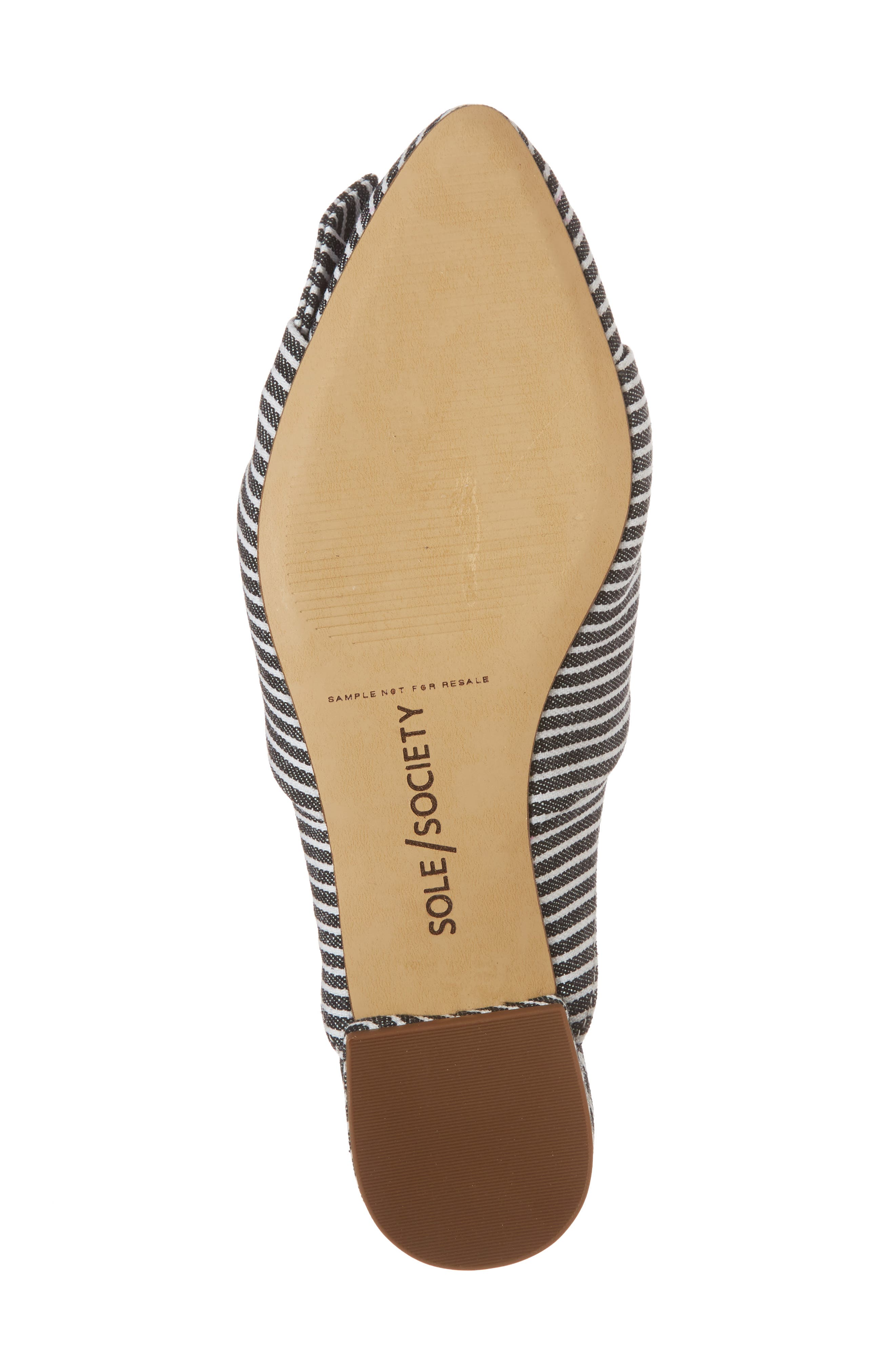 Alternate Image 6  - Sole Society Pear Knotted Mule (Women)