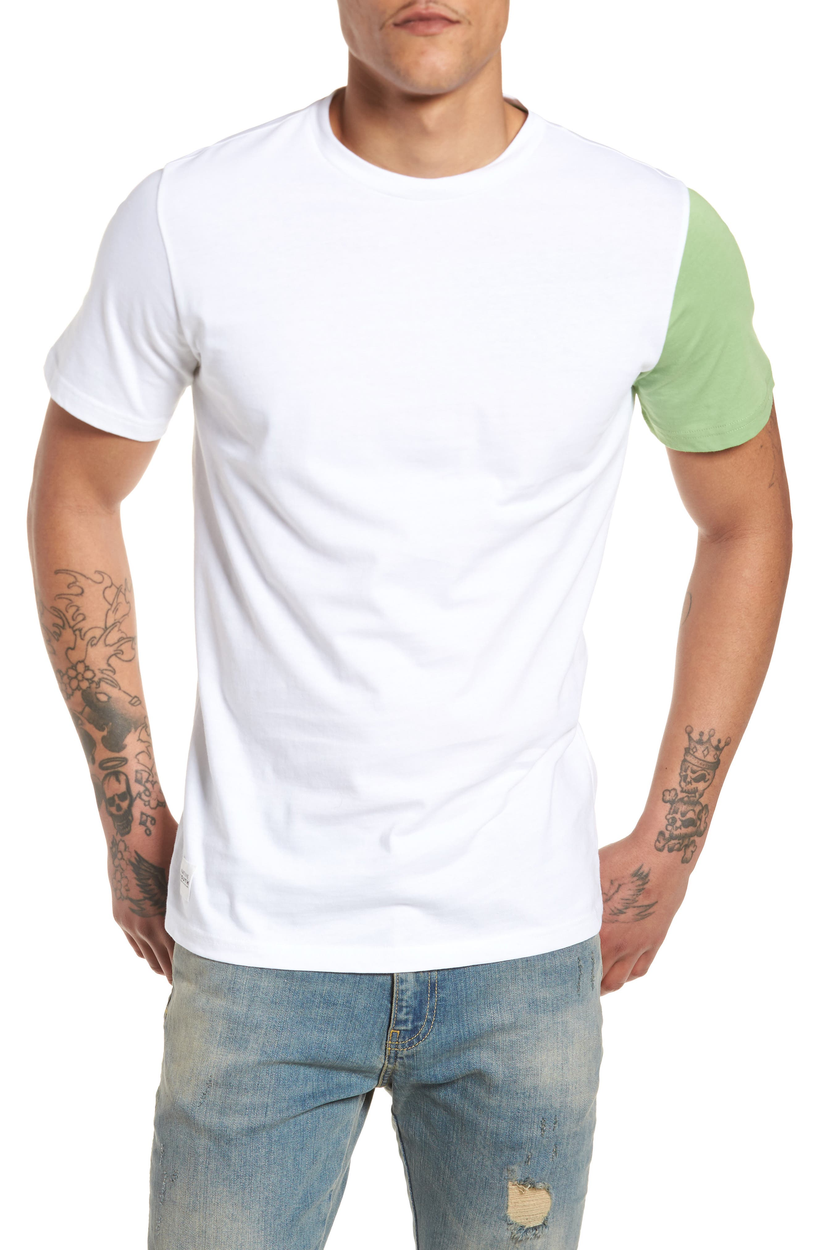 Tides T-Shirt,                         Main,                         color, White