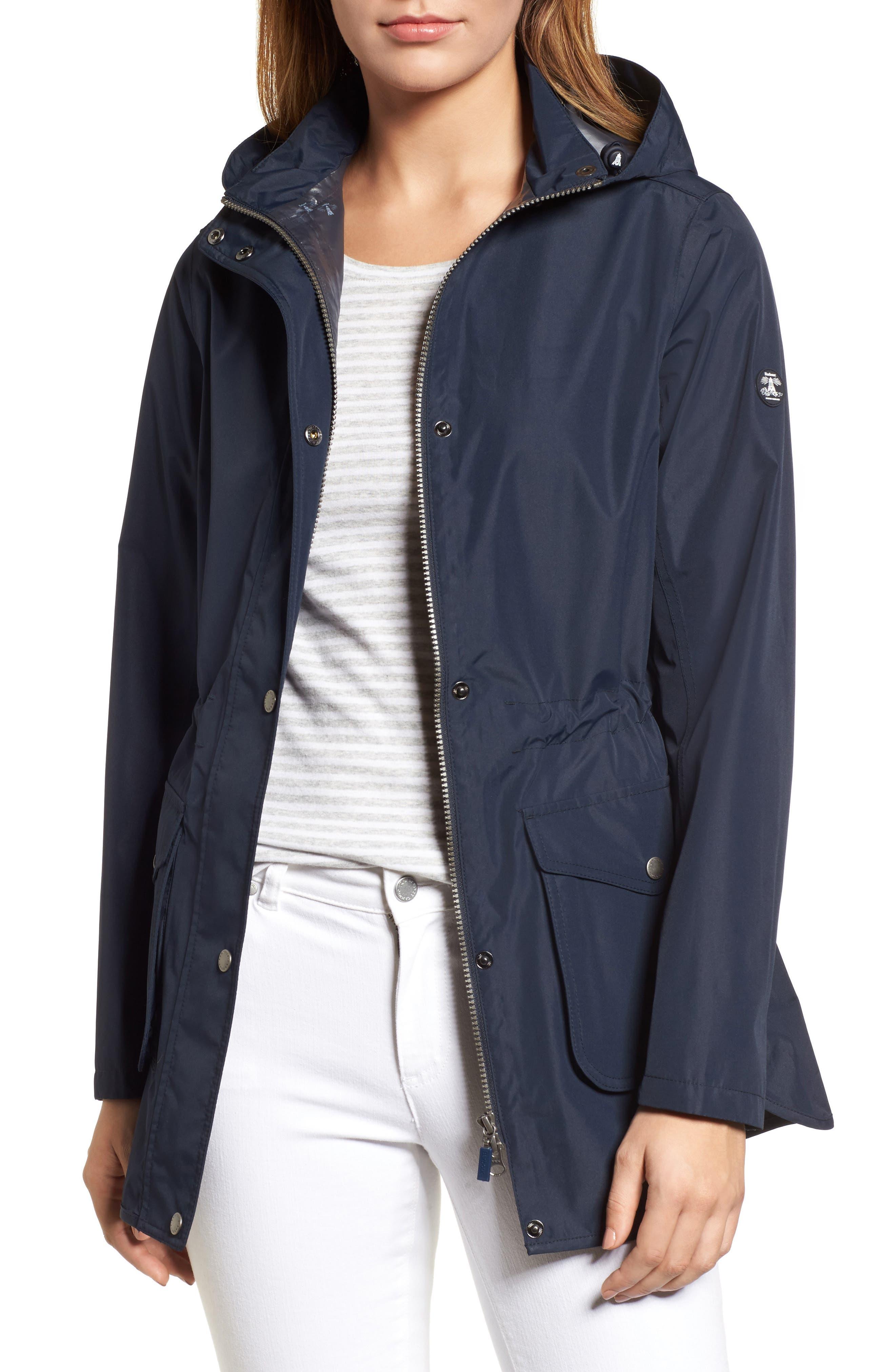 Studland Waterproof Jacket,                         Main,                         color, Navy