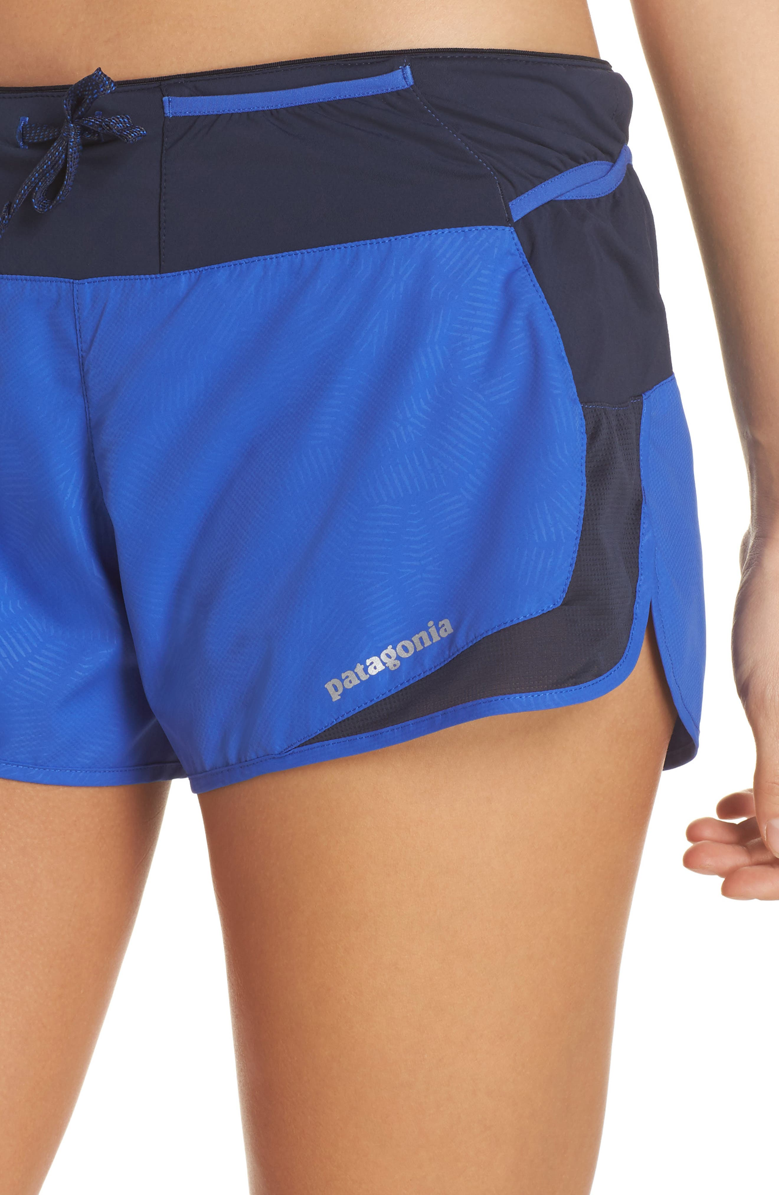 Strider Pro Trail Running Shorts,                             Alternate thumbnail 4, color,                             Hexy - Imperial Blue