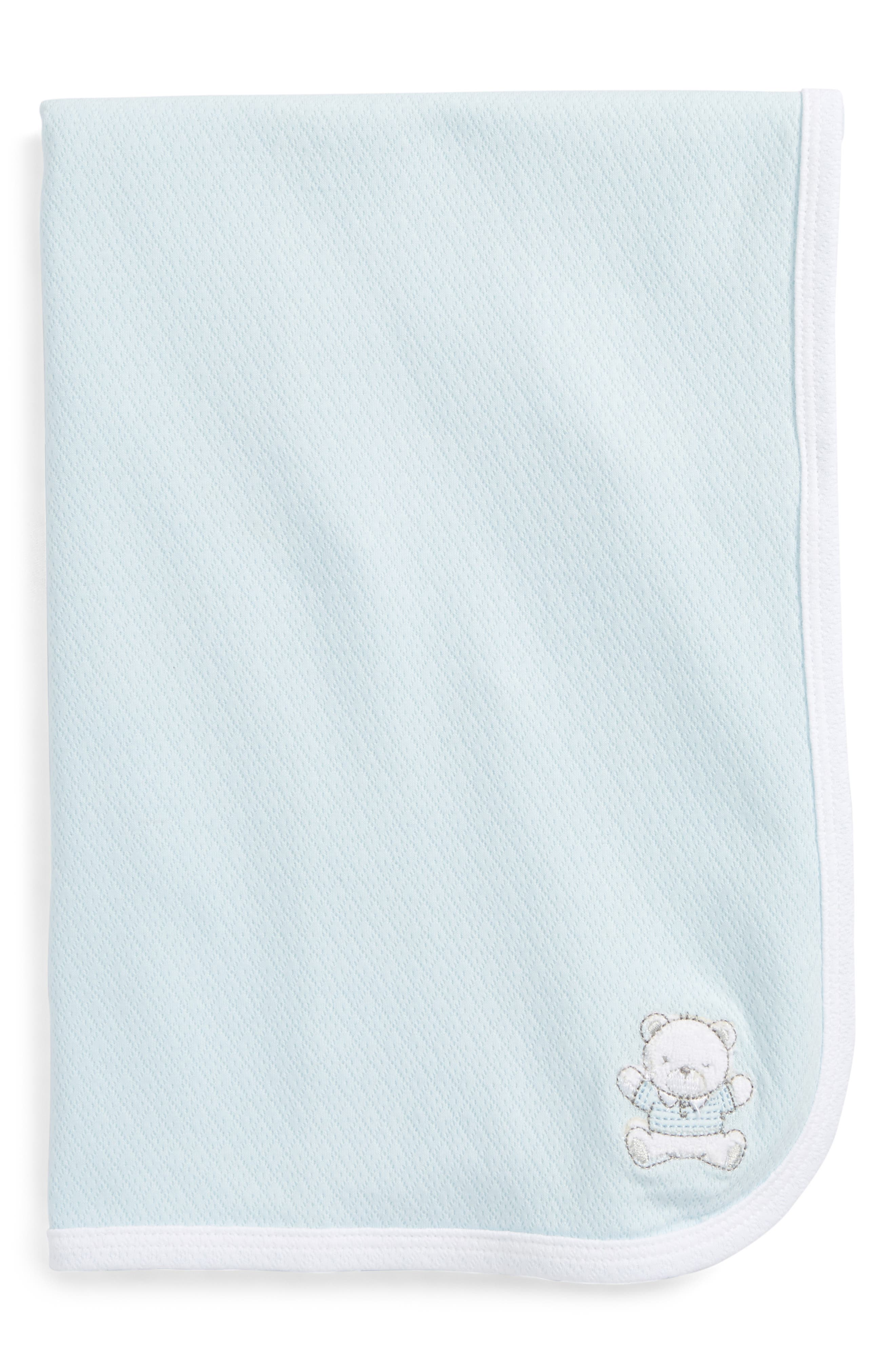 Alternate Image 1 Selected - Little Me Bear Receiving Blanket (Baby) (Nordstrom Exclusive)