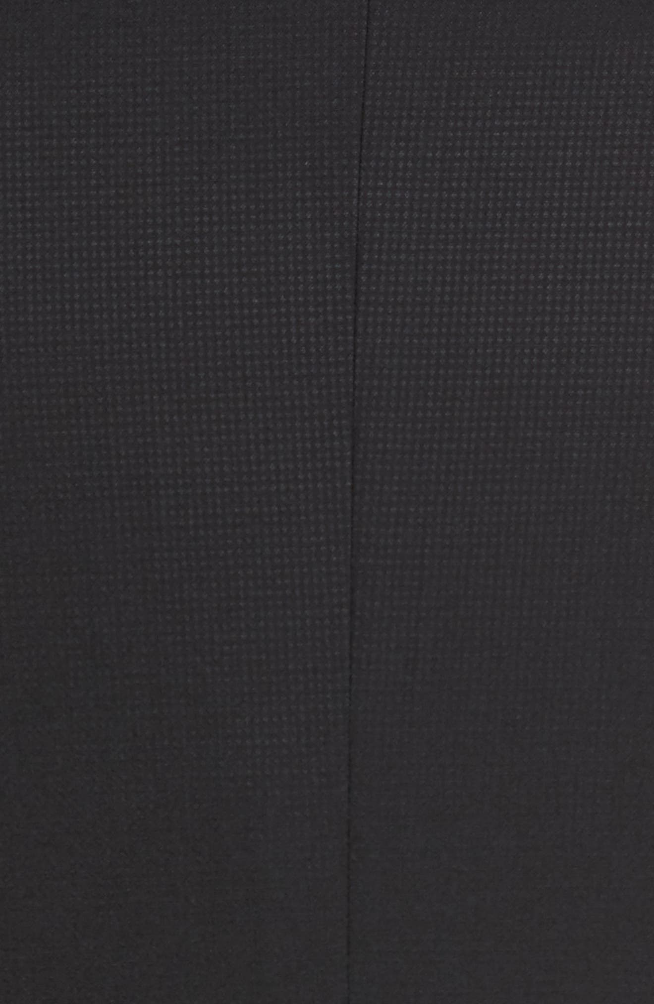 Roger Extra Slim Fit Solid Wool Suit,                             Alternate thumbnail 7, color,                             Black