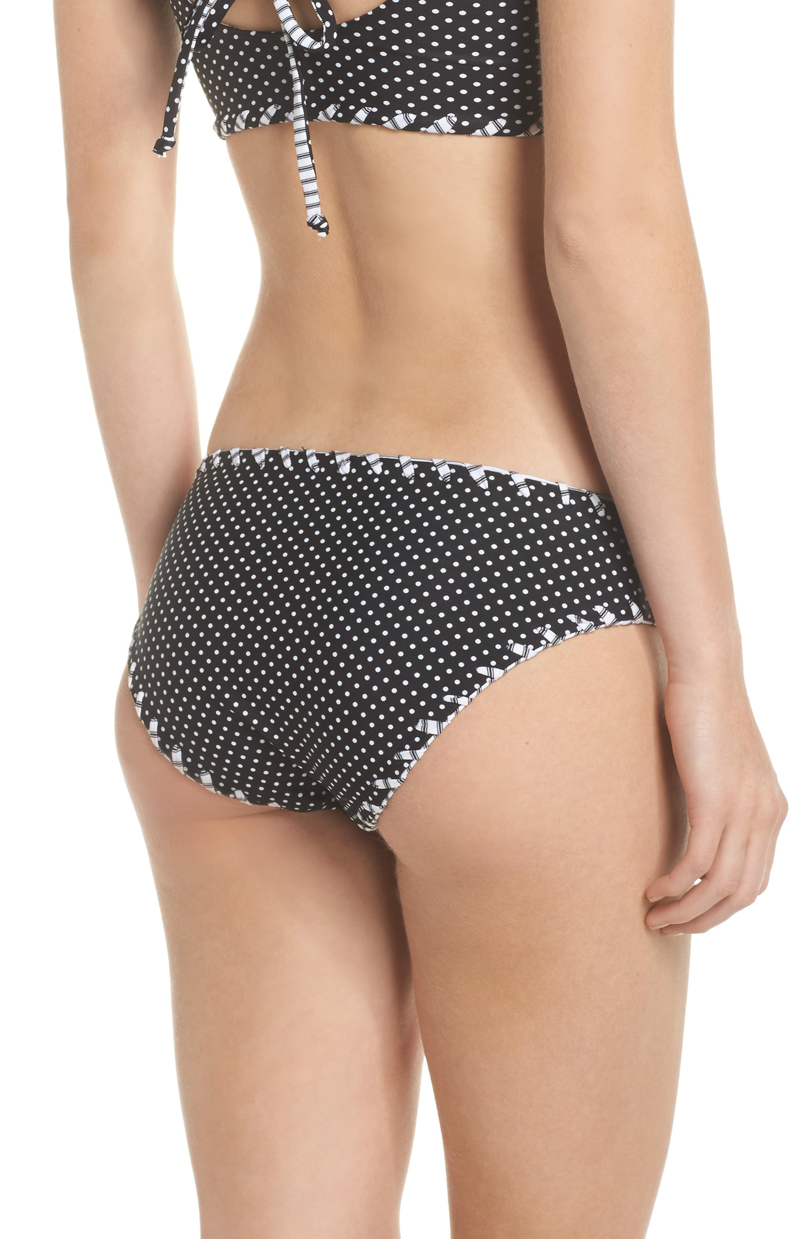 Alternate Image 2  - Becca Nightingale Reversible Hipster Bikini Bottoms