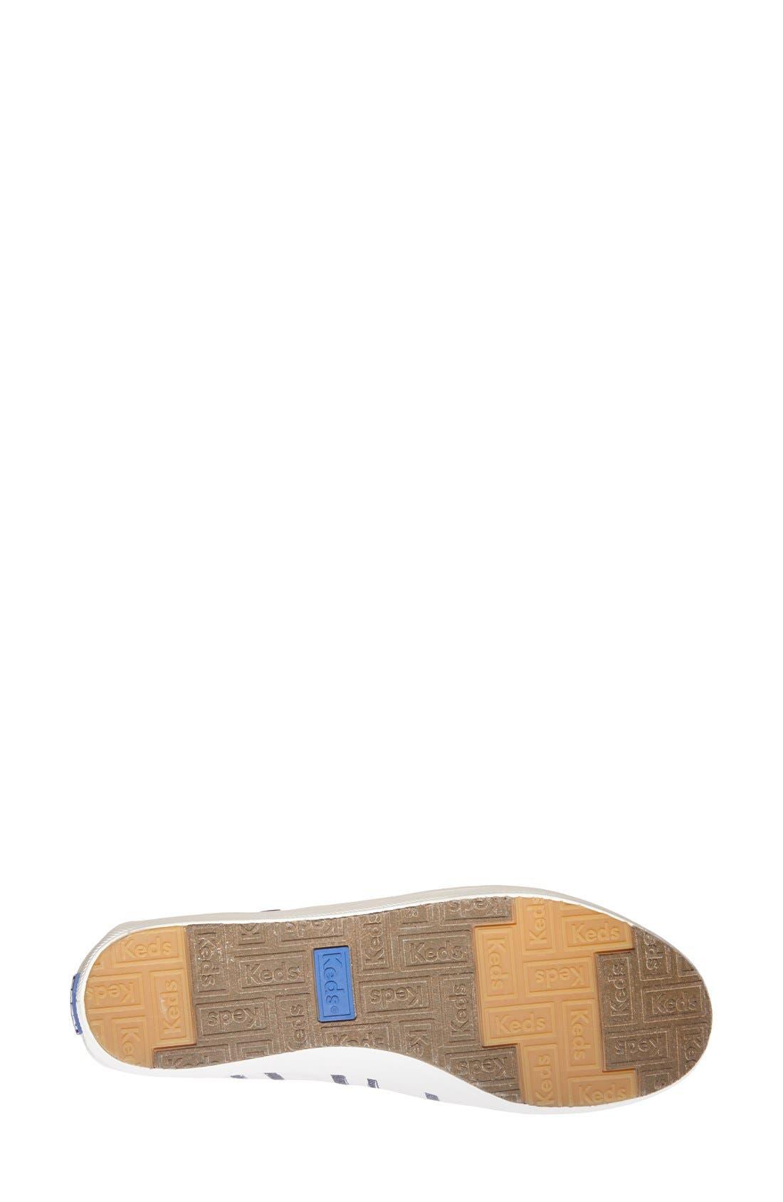 Alternate Image 4  - Keds® 'Crashback - Washed Beach Stripe' Slip-On Sneaker (Women)