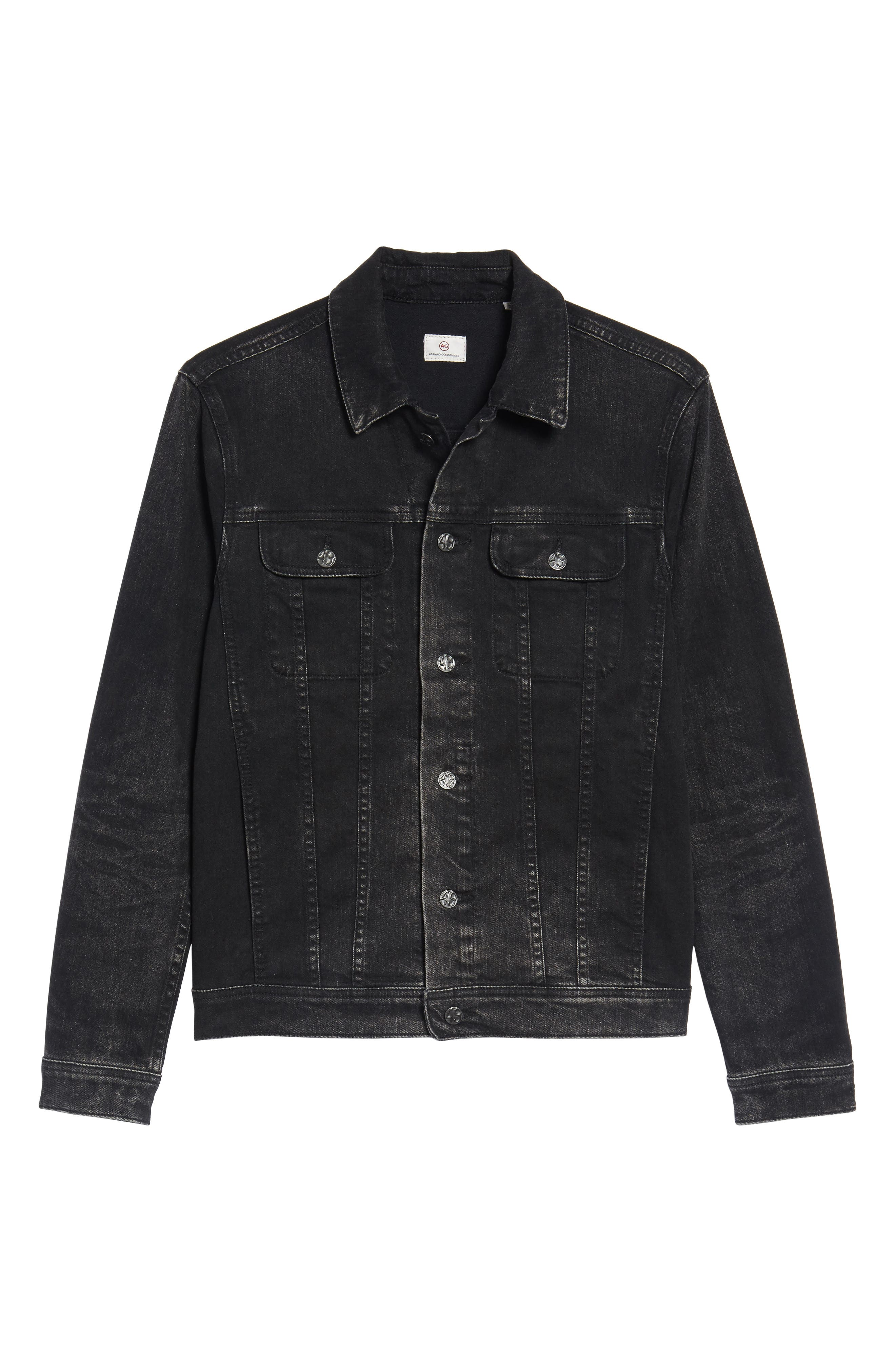 Dart Denim Jacket,                             Alternate thumbnail 6, color,                             9 Years Clouded