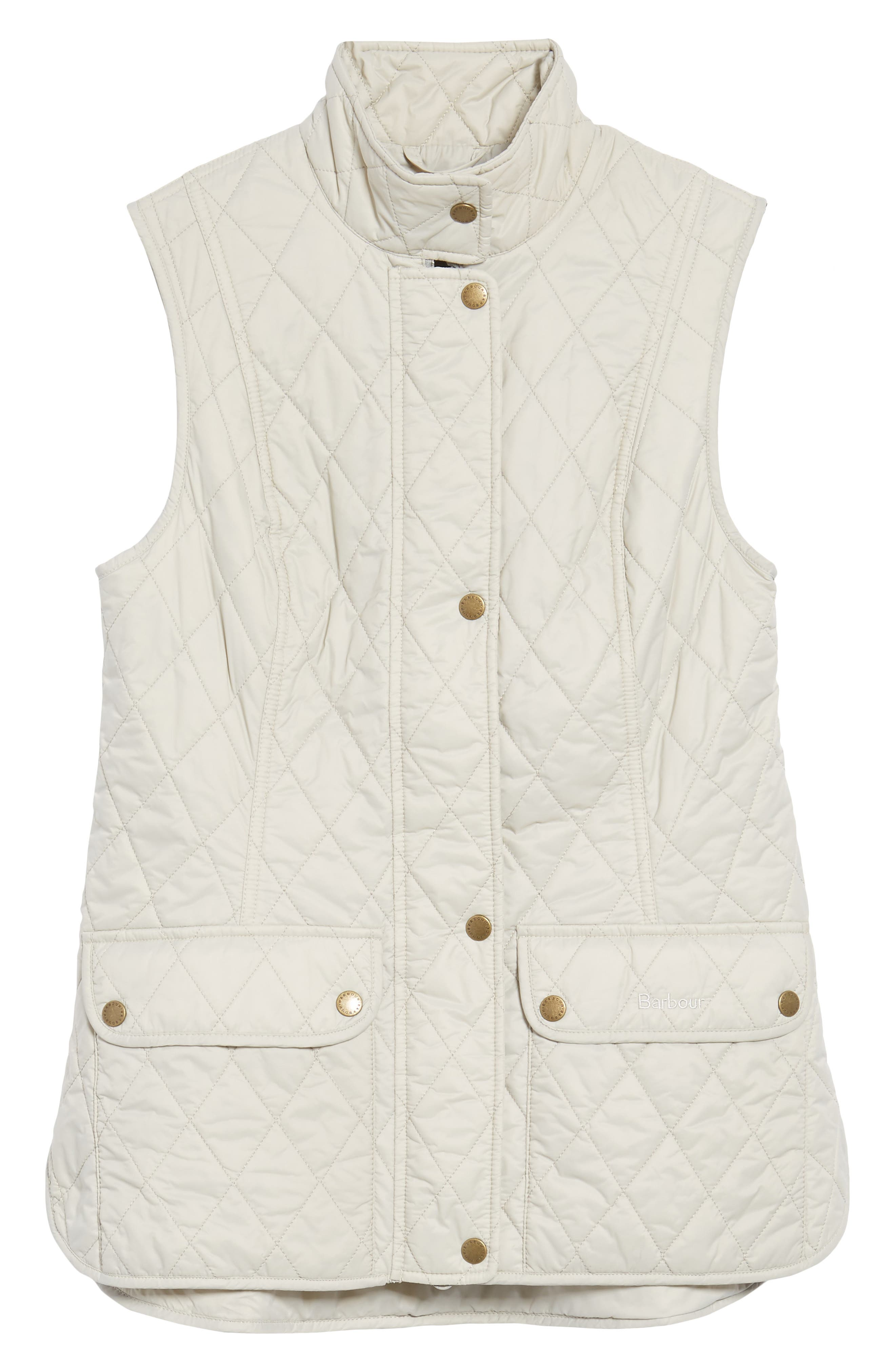 Otterburn Water Resistant Quilted Gilet,                             Alternate thumbnail 6, color,                             Mist