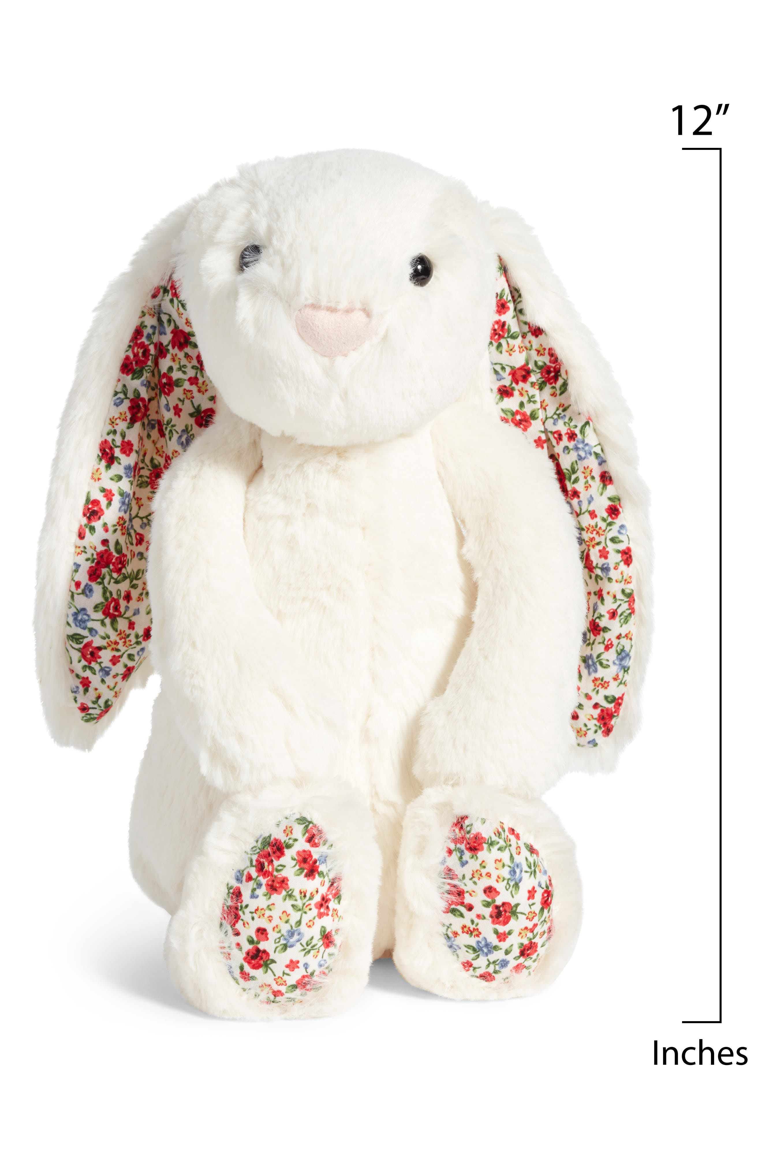 Blossom Lily Bunny Stuffed Animal,                             Alternate thumbnail 2, color,                             Cream