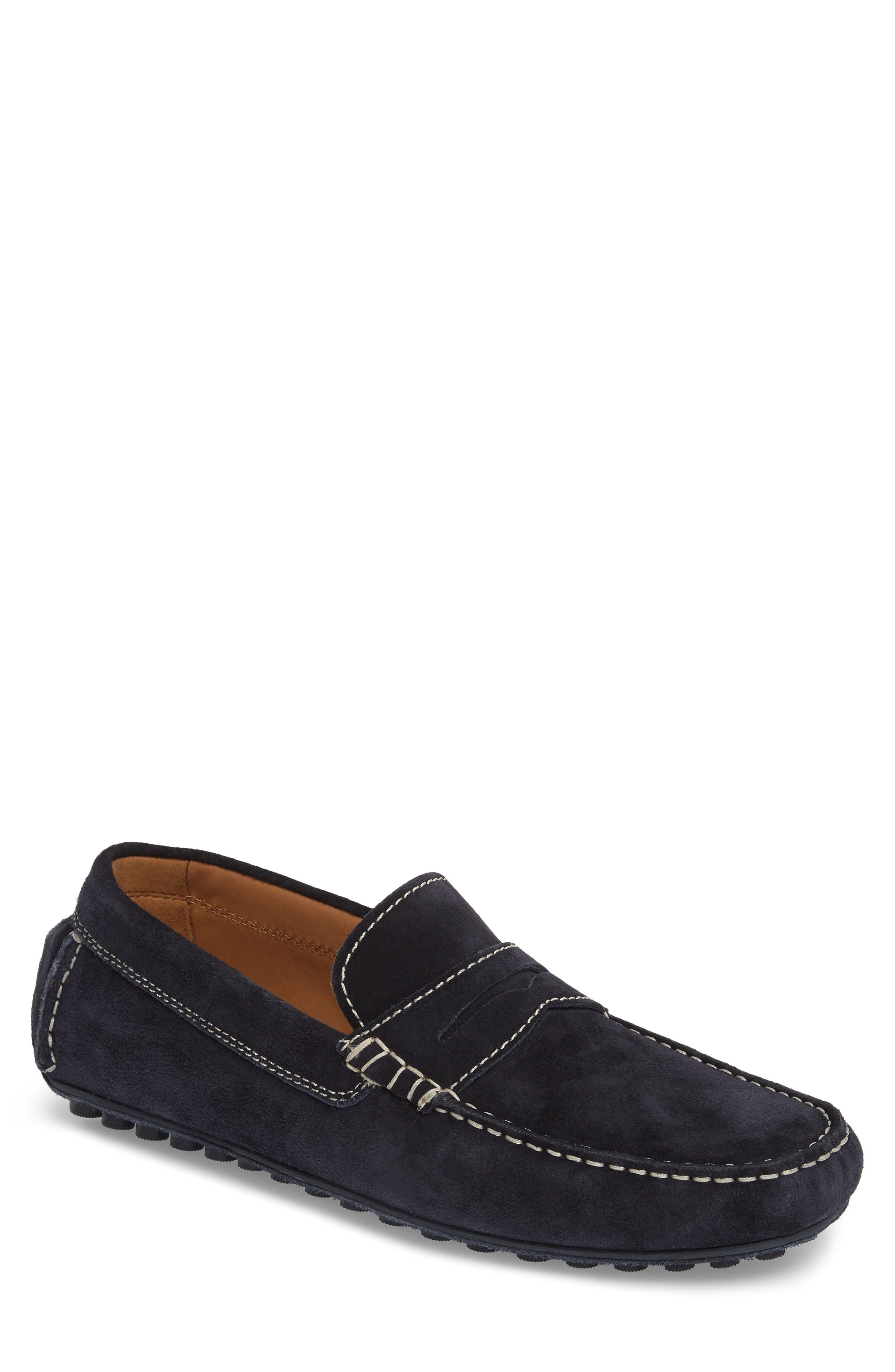 Penny Loafer,                             Main thumbnail 1, color,                             Navy