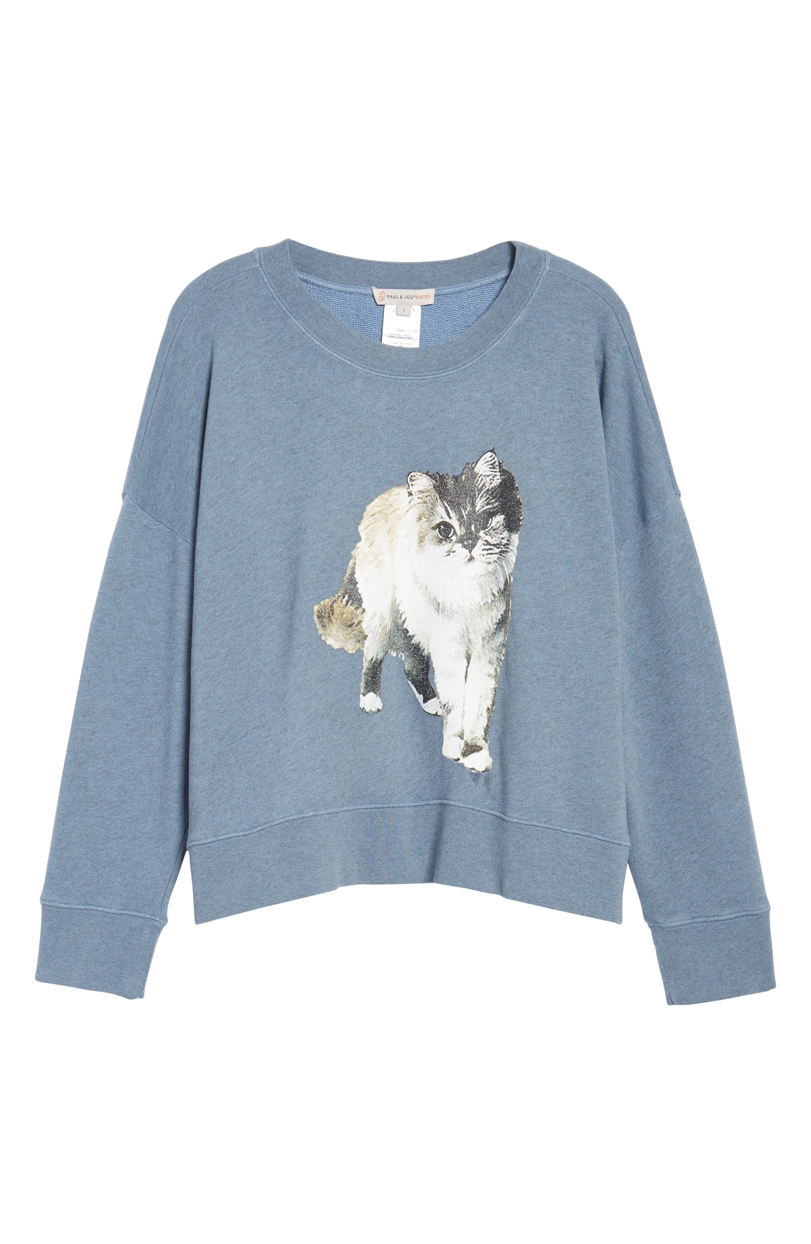 Kyoto Sweatshirt,                             Alternate thumbnail 6, color,                             Blue