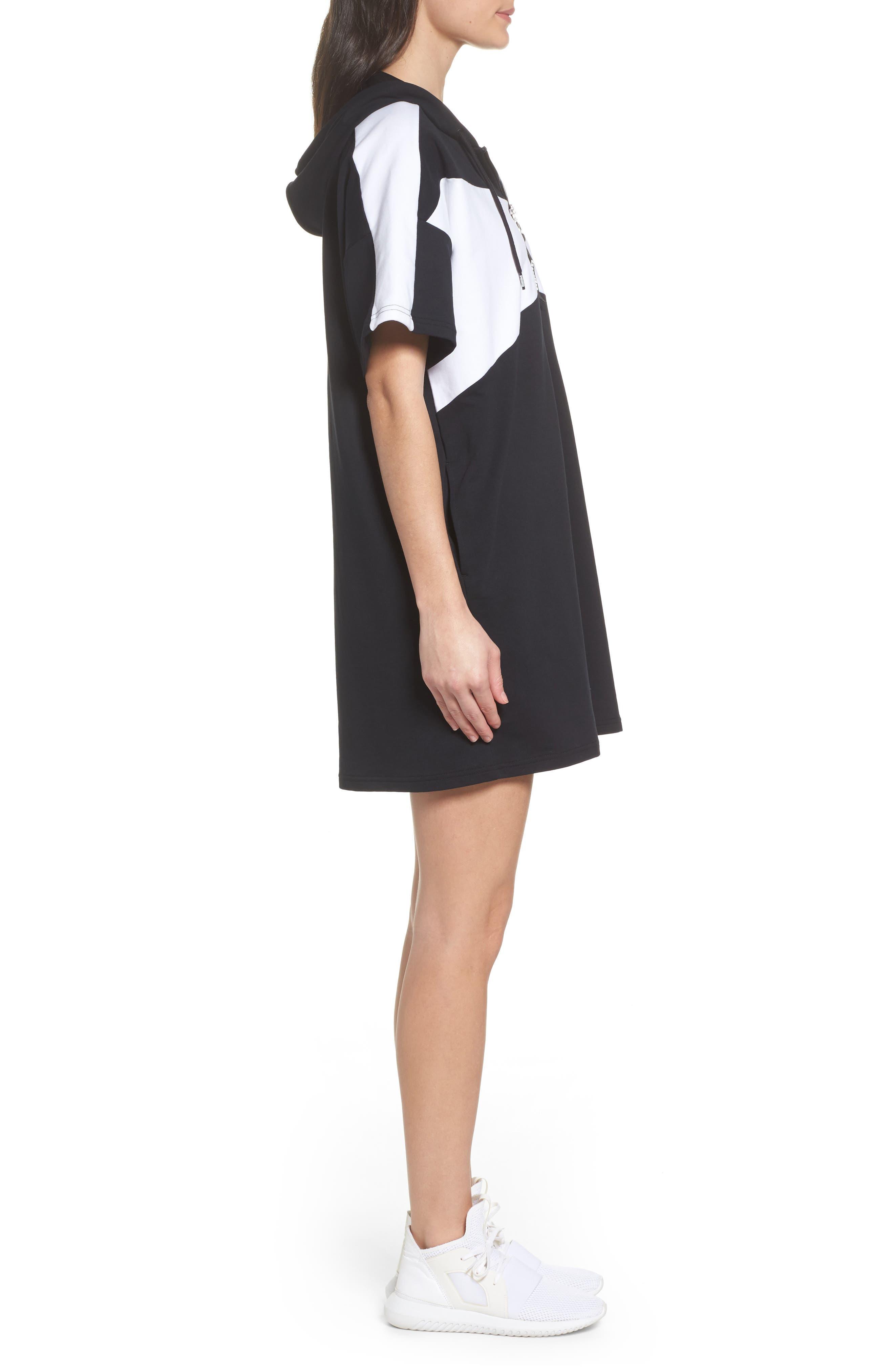 Archive Dress,                             Alternate thumbnail 3, color,                             Puma Black