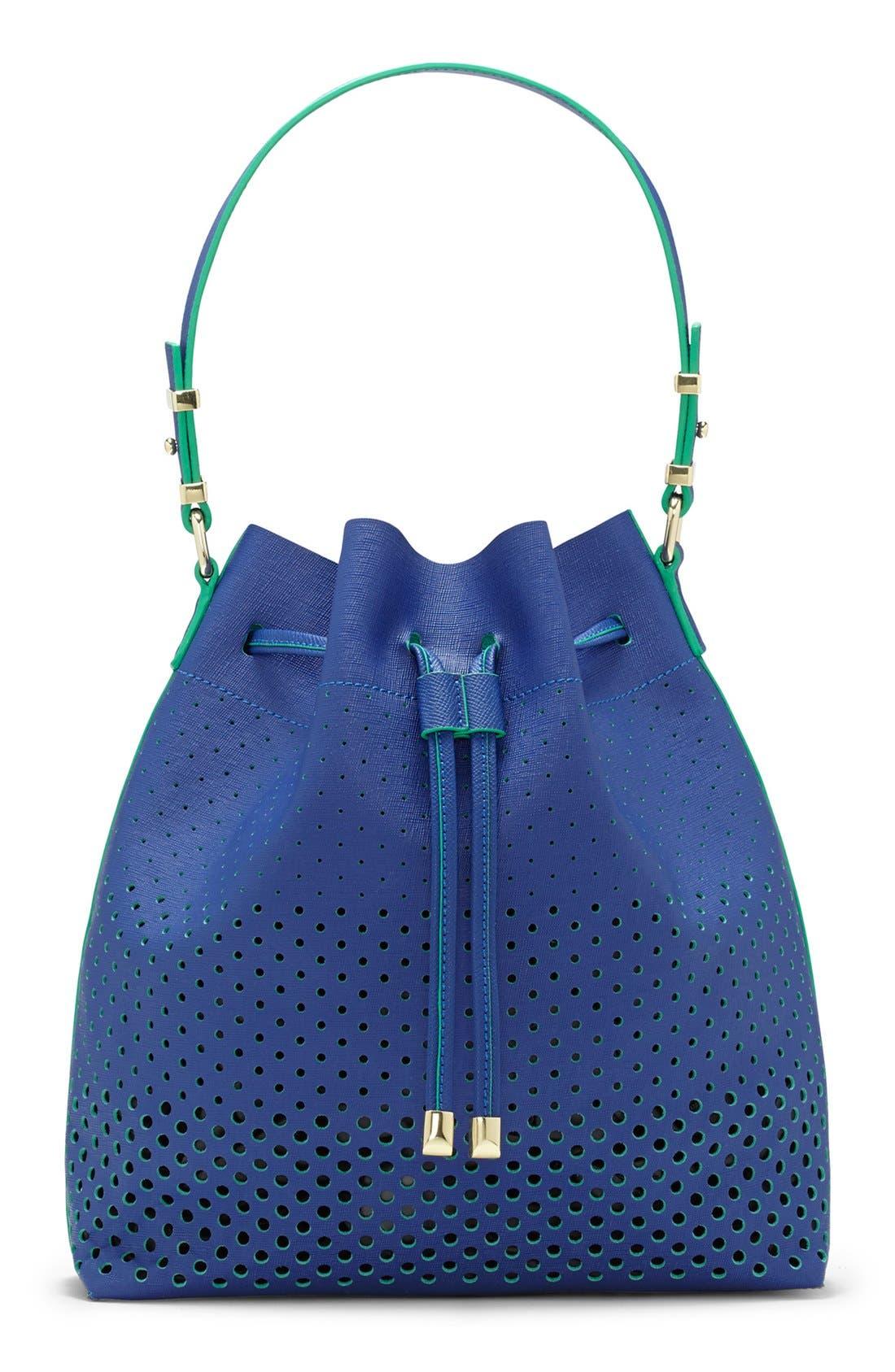 Alternate Image 1 Selected - Vince Camuto 'Leila' Drawstring Bucket Bag