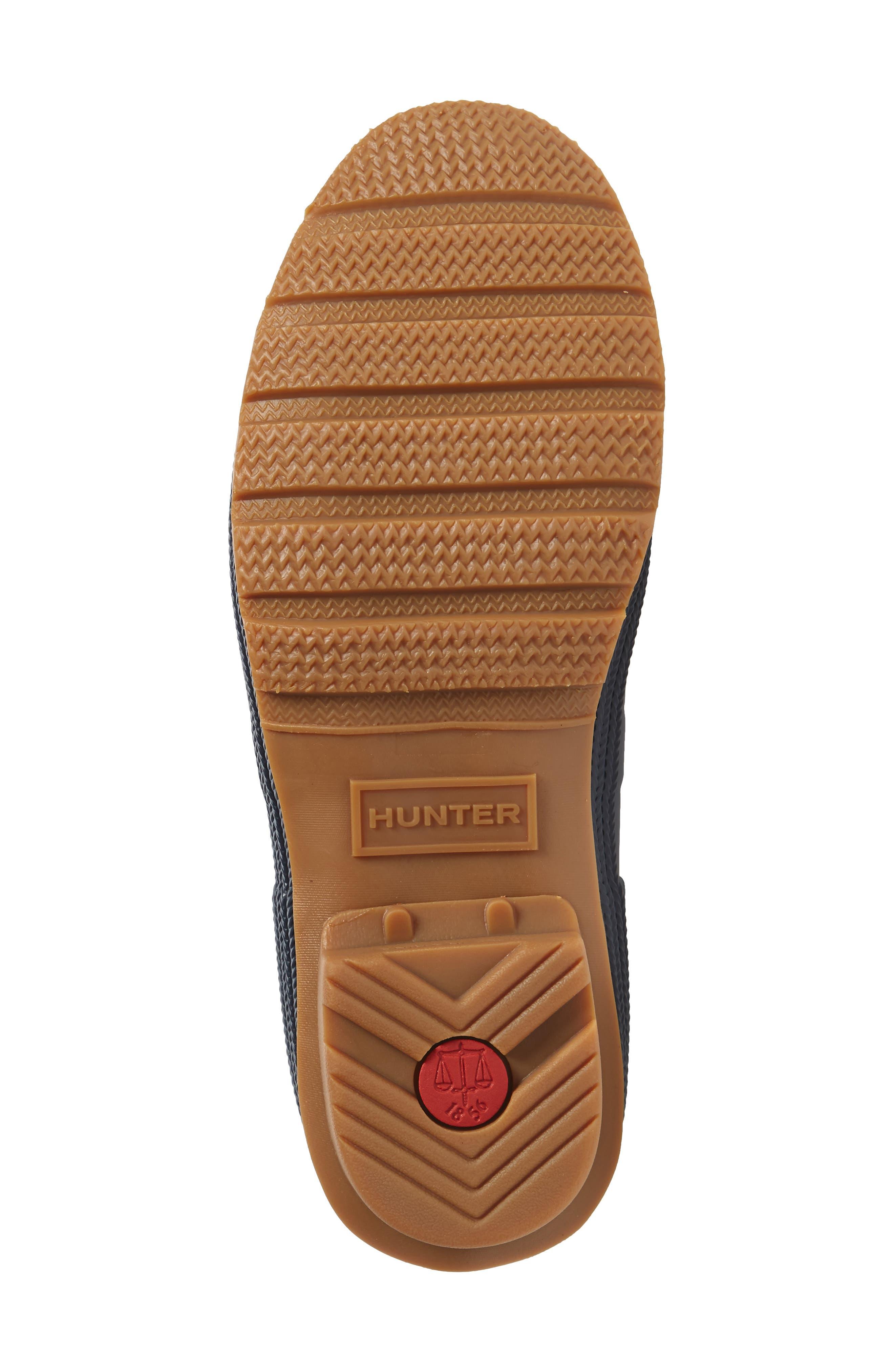Original Sissinghurst Waterproof Pull-On Boot,                             Alternate thumbnail 6, color,                             Navy/ Gum