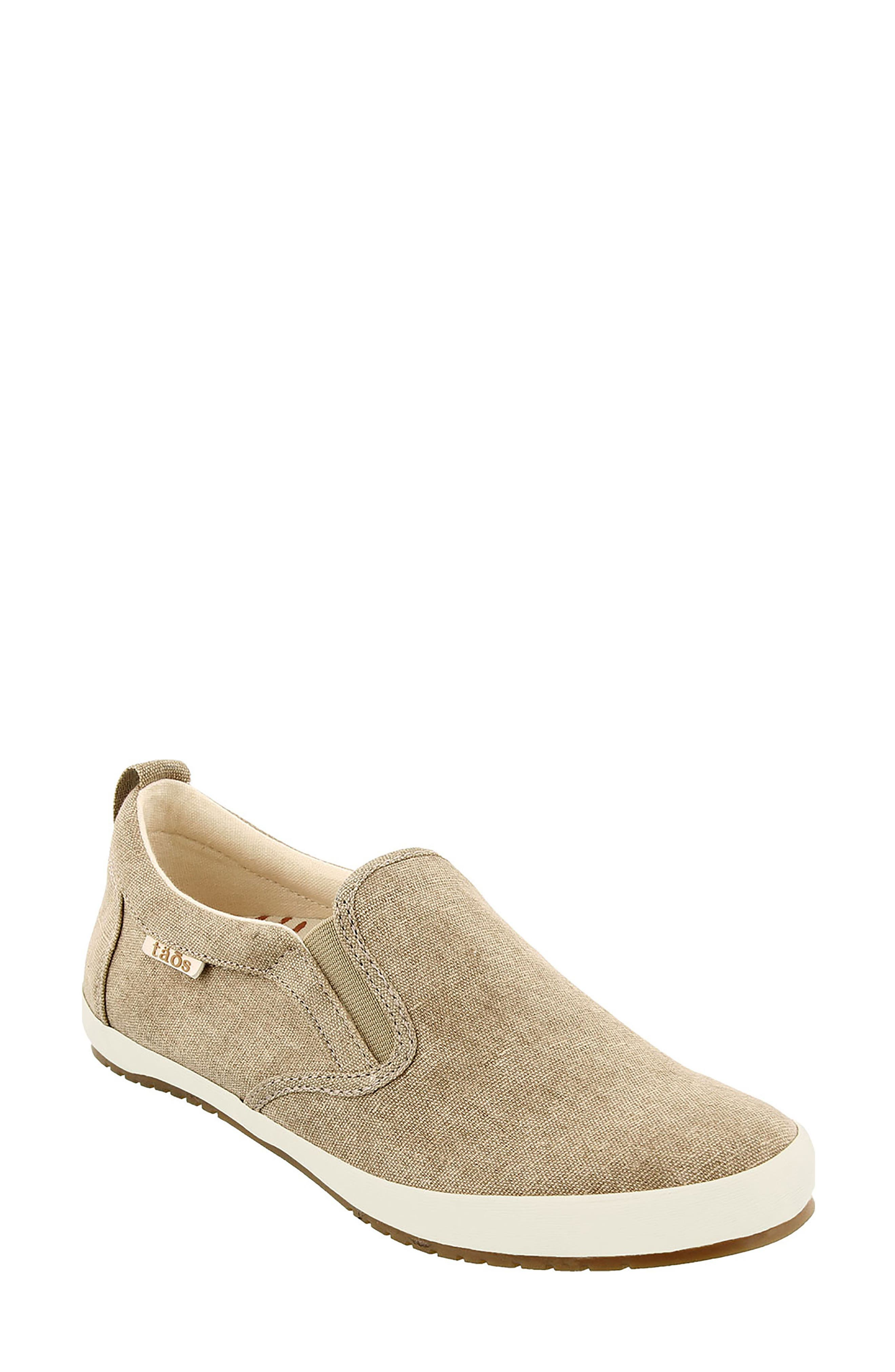 Dandy Slip-On Sneaker,                         Main,                         color, Khaki Washed Canvas