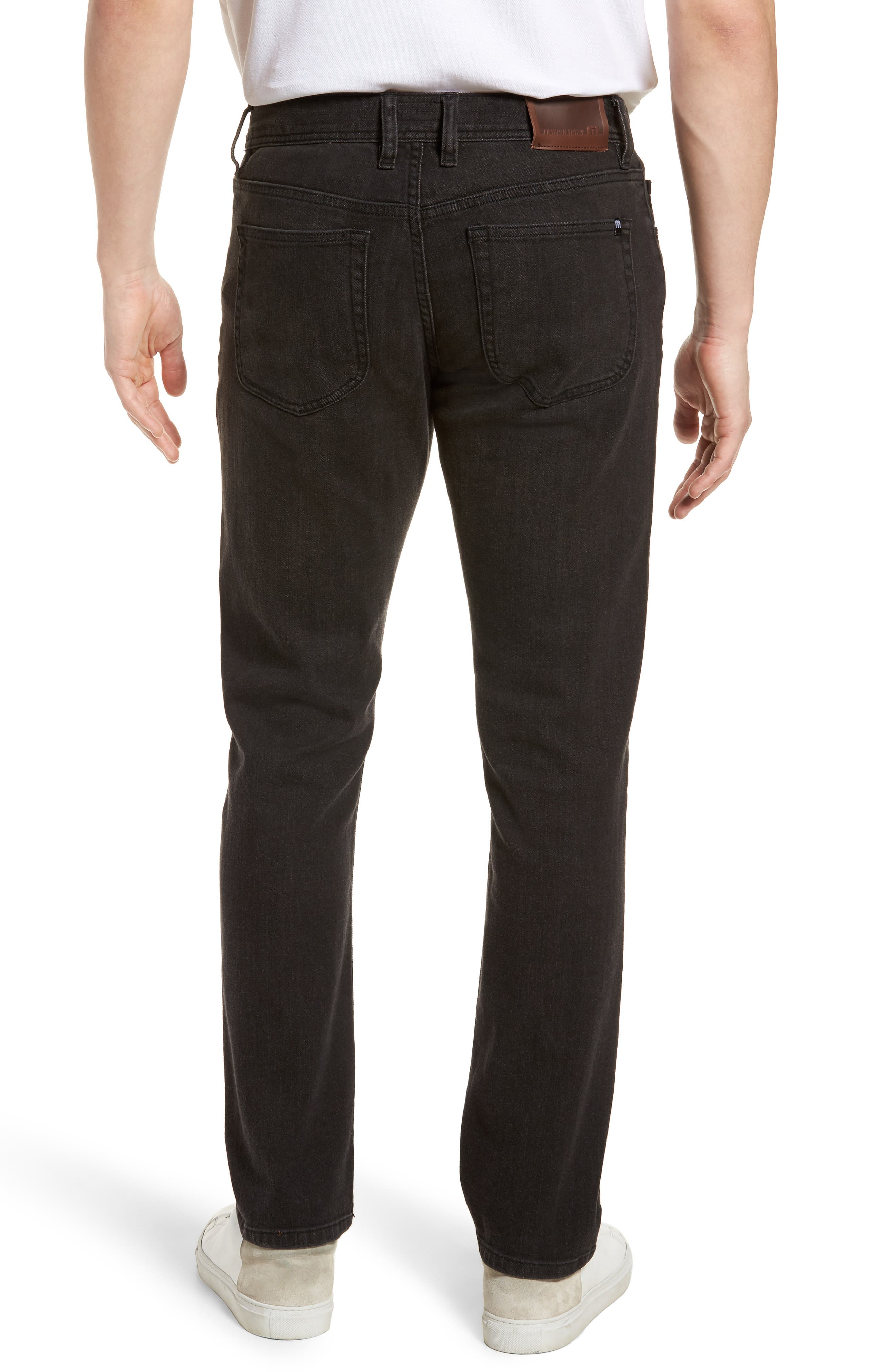 The Standard Regular Fit Straight Leg Jeans,                             Alternate thumbnail 2, color,                             Charcoal