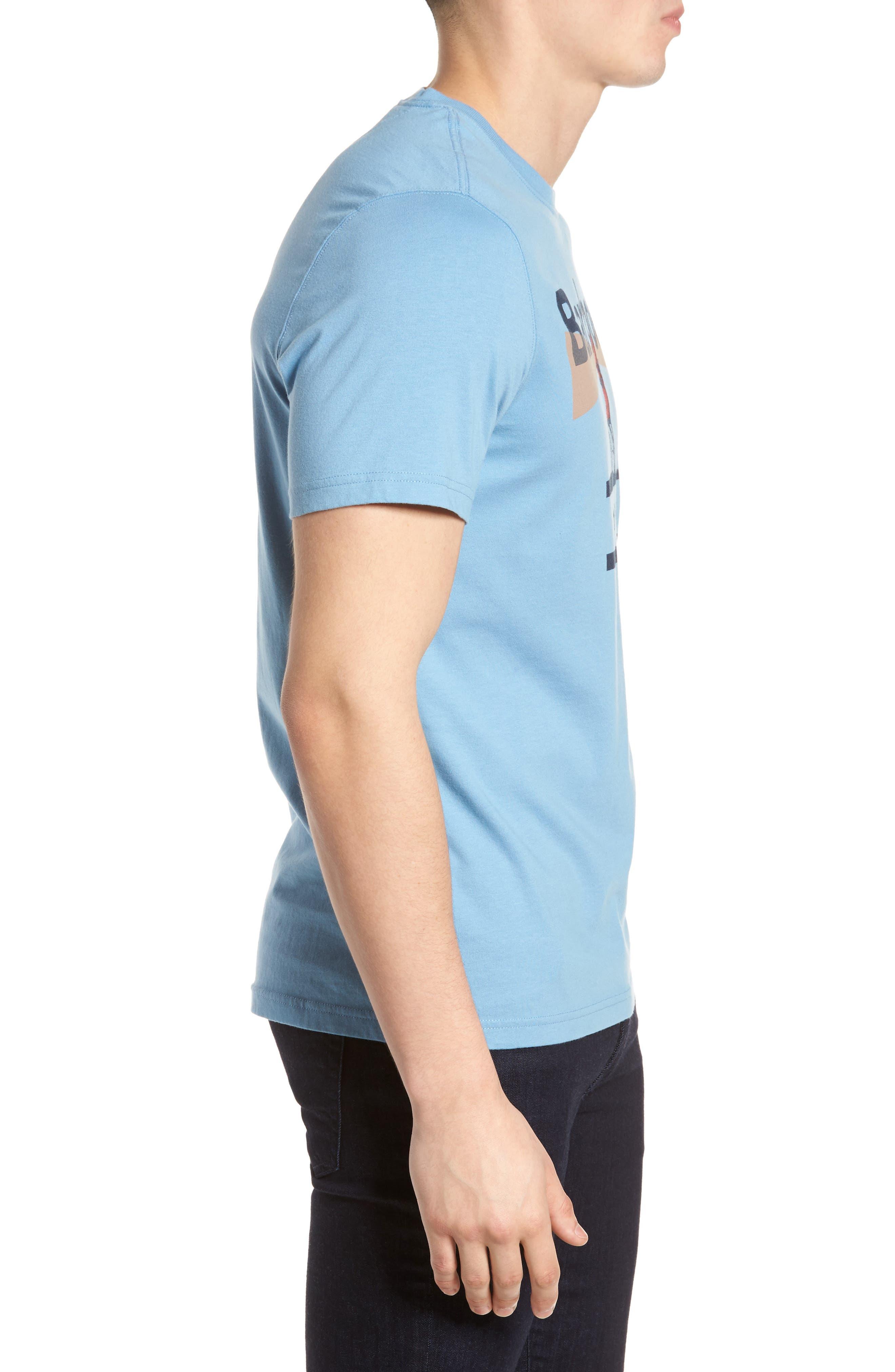Beacon 94 Crewneck T-Shirt,                             Alternate thumbnail 3, color,                             Blue