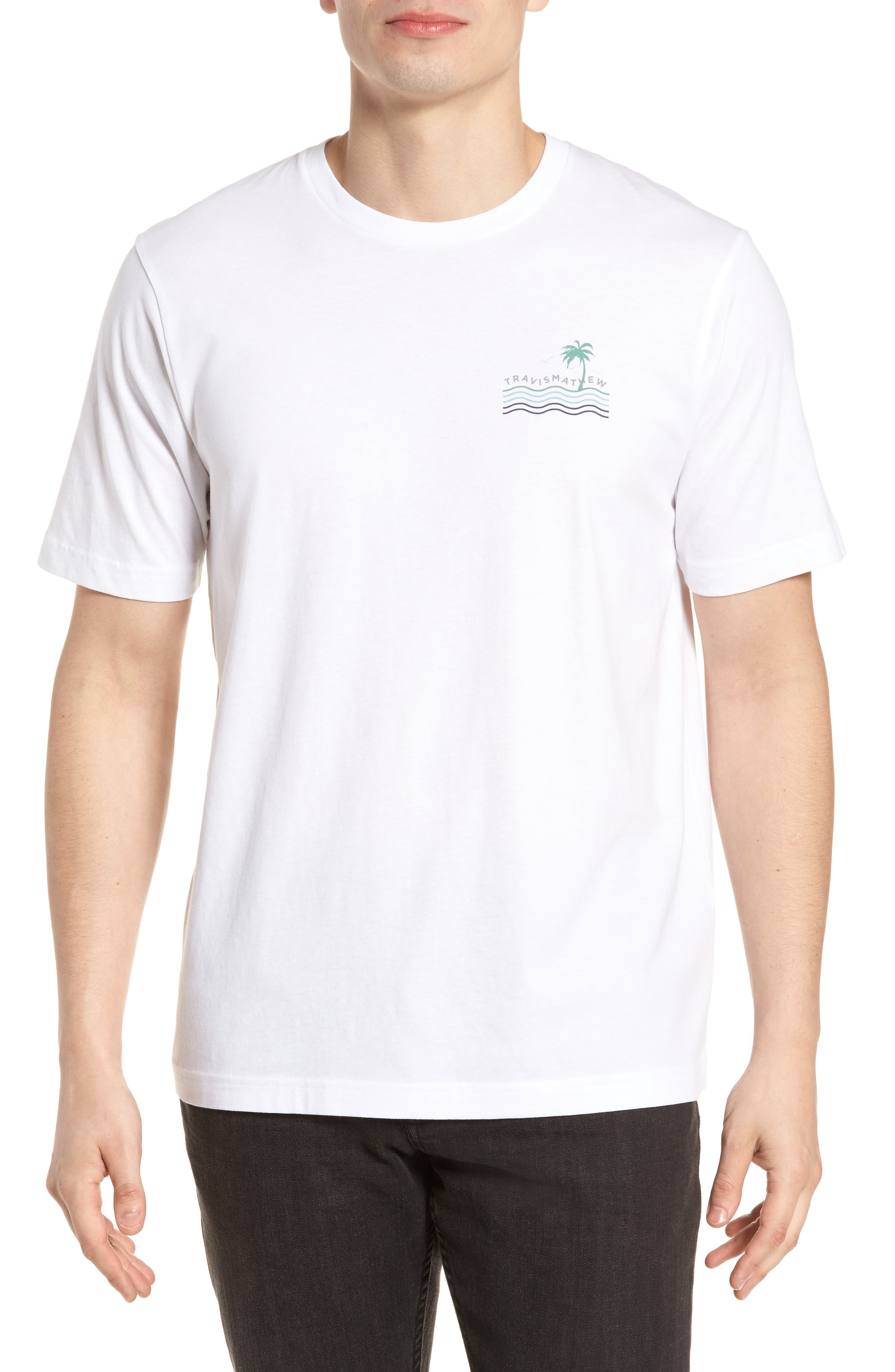Double Take Graphic T-Shirt,                         Main,                         color, White