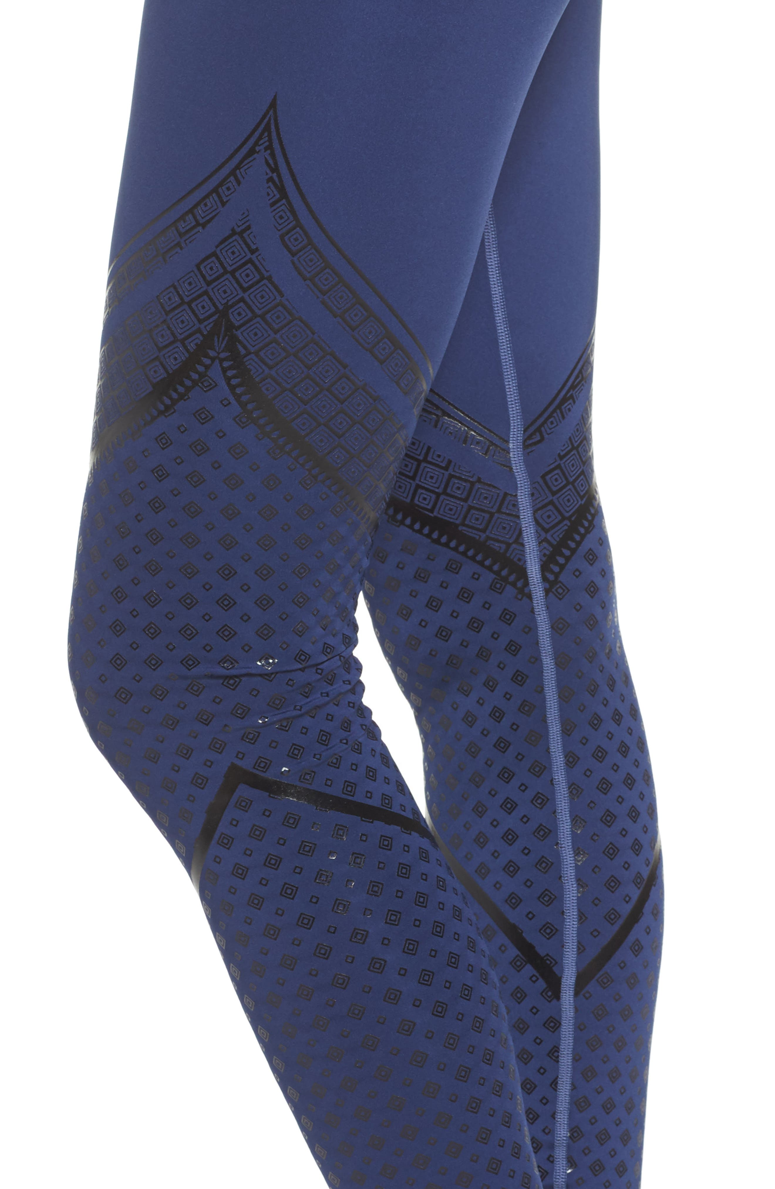 Everyday Train Tights,                             Alternate thumbnail 4, color,                             Blue Indigo
