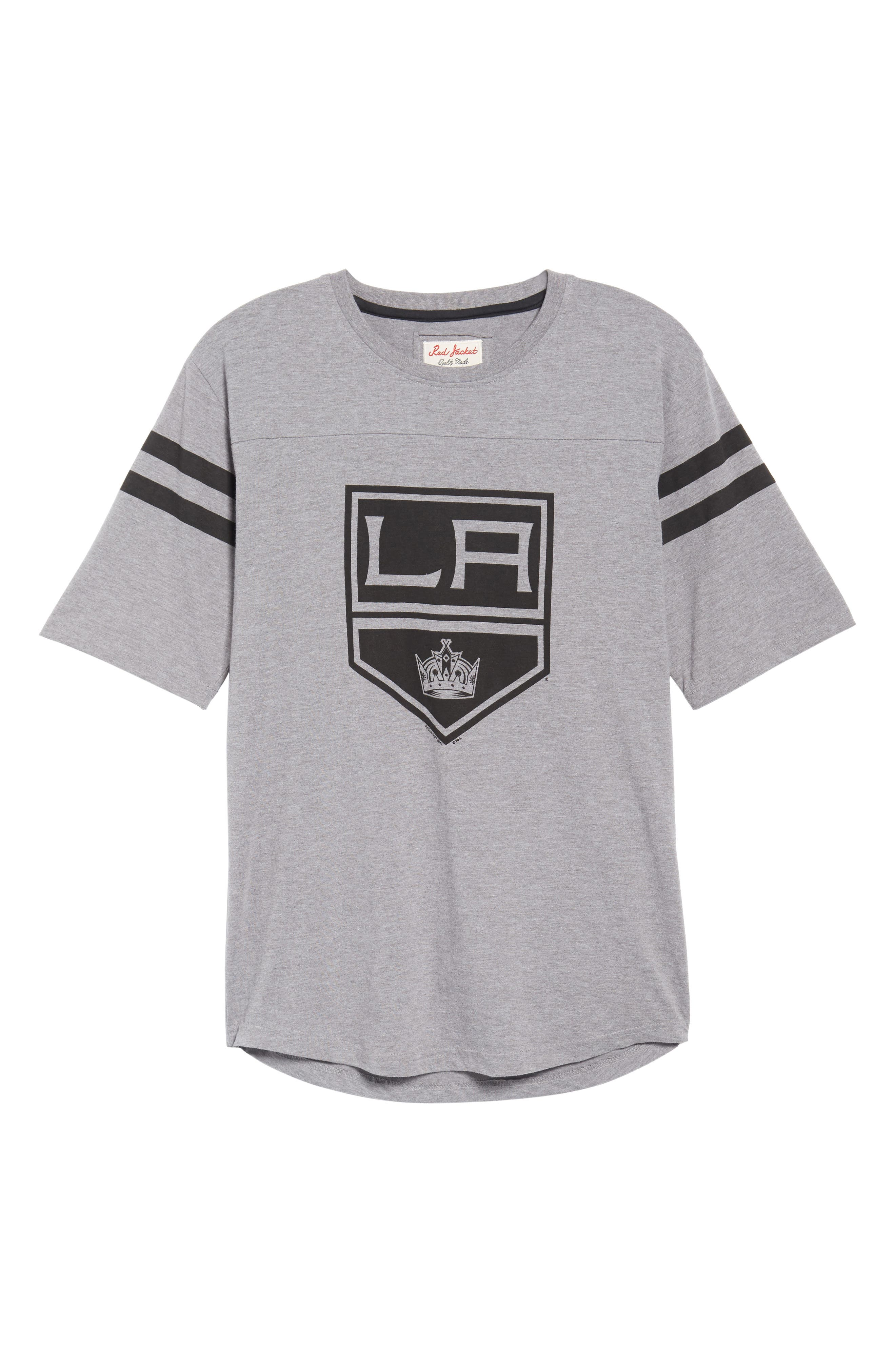 Crosby Los Angeles Kings T-Shirt,                             Alternate thumbnail 6, color,                             Heather Grey