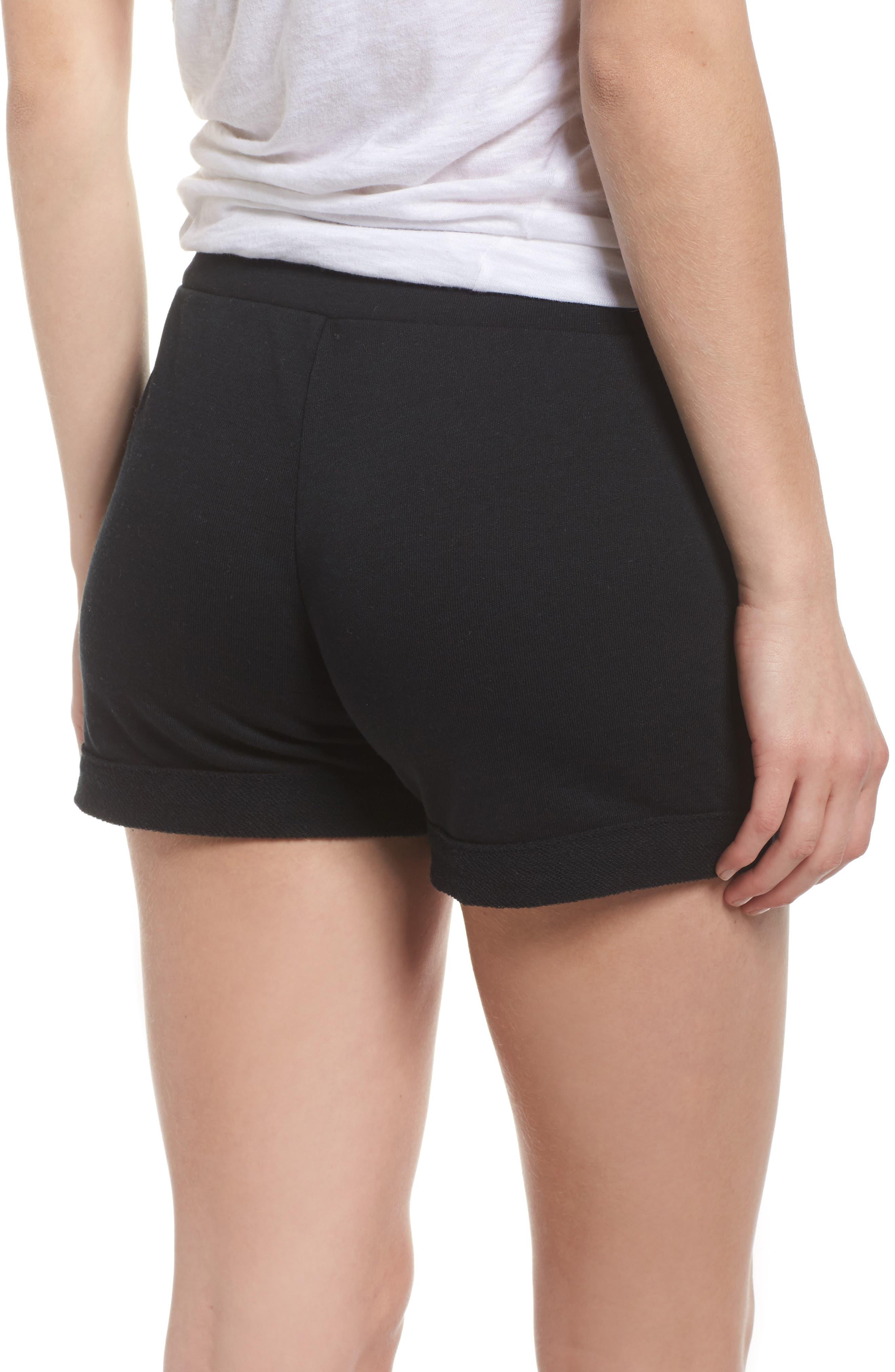 Lounge Shorts,                             Alternate thumbnail 2, color,                             True Black