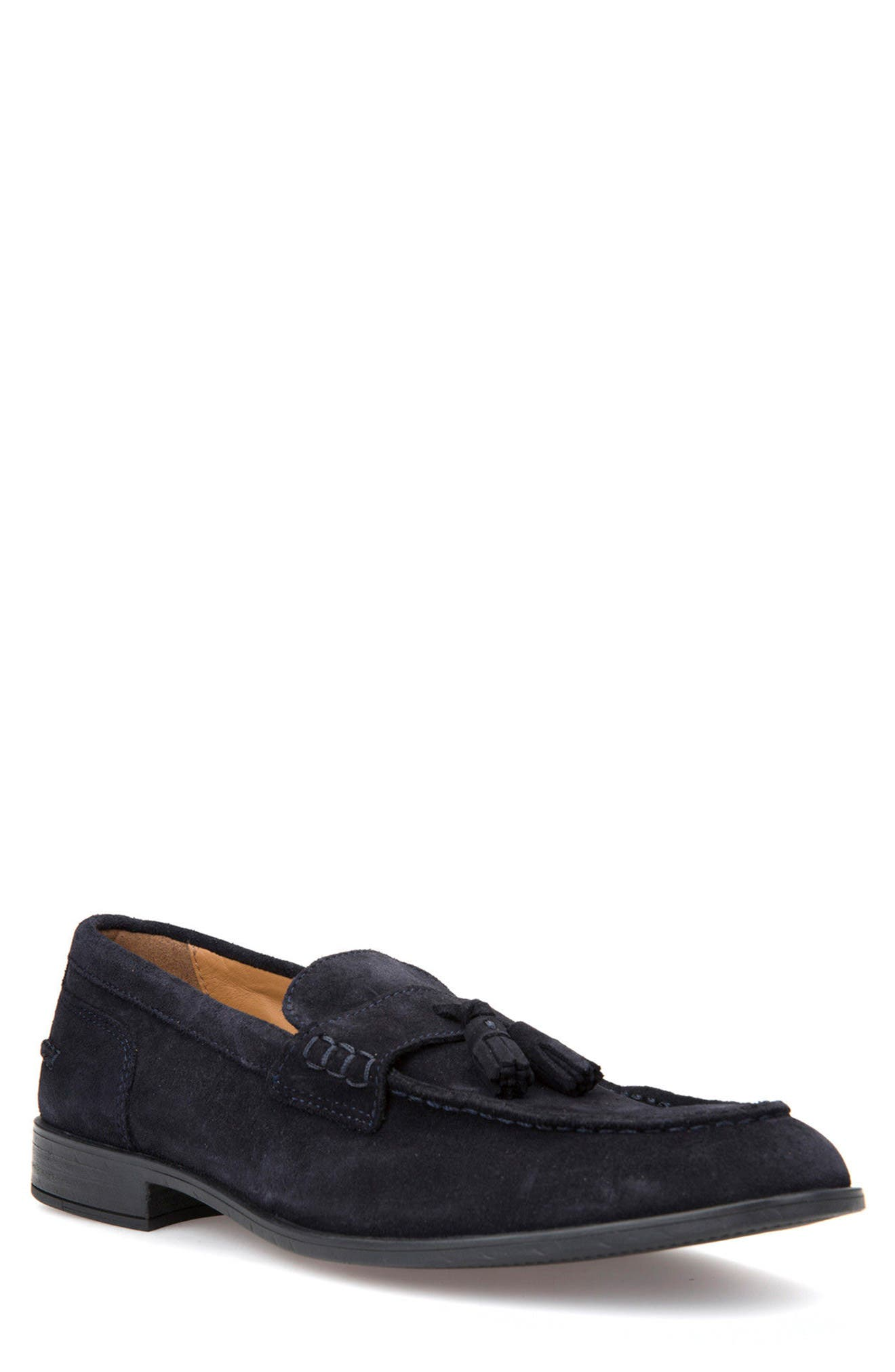 Bryceton 1 Tassel Loafer,                             Main thumbnail 1, color,                             Navy Suede
