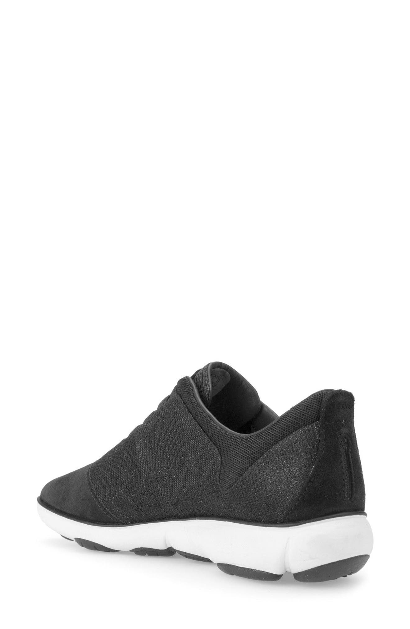 Nebula Slip-On Sneaker,                             Alternate thumbnail 2, color,                             Black