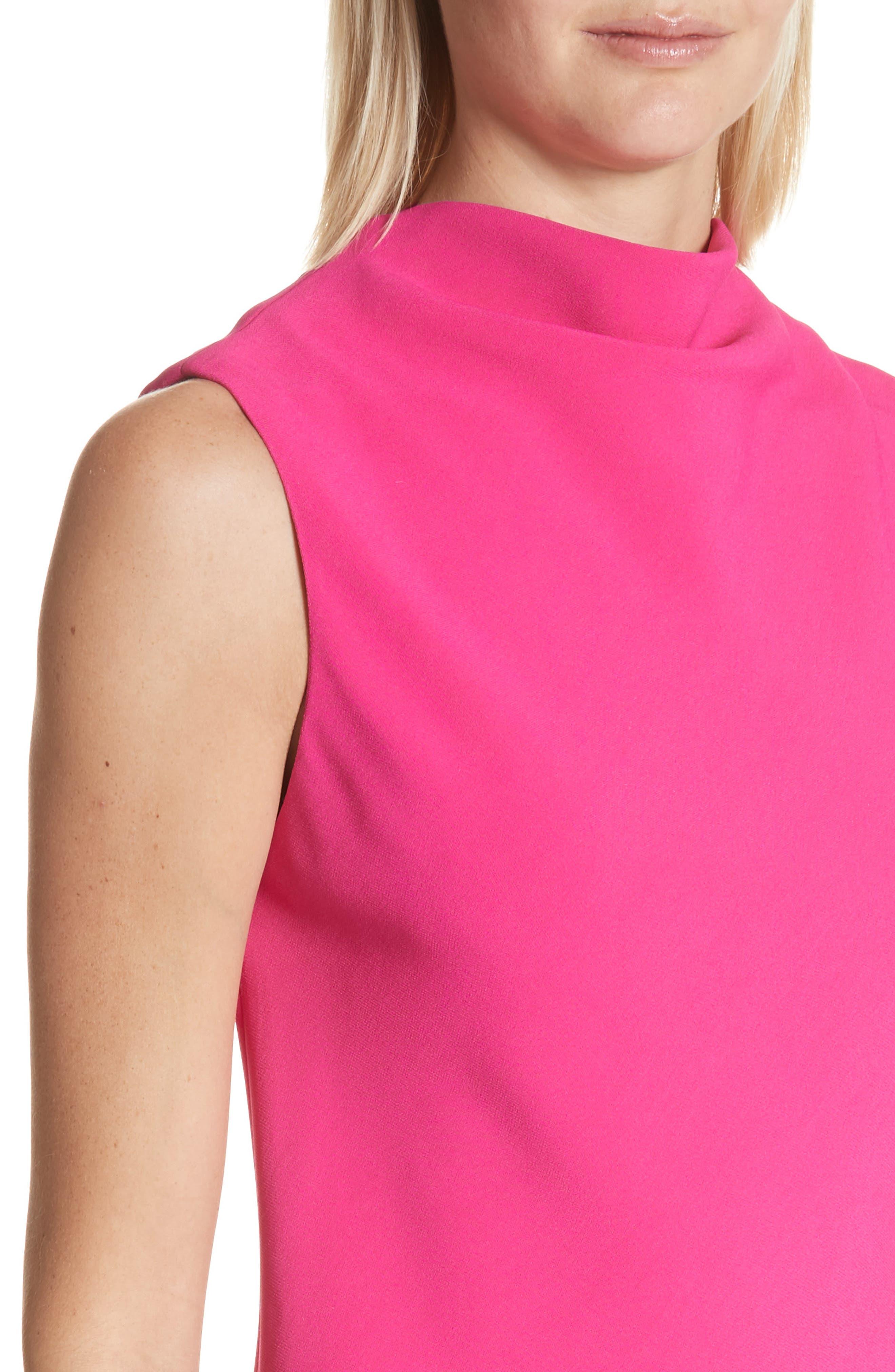 Alternate Image 4  - Brandon Maxwell Drape Front Dress