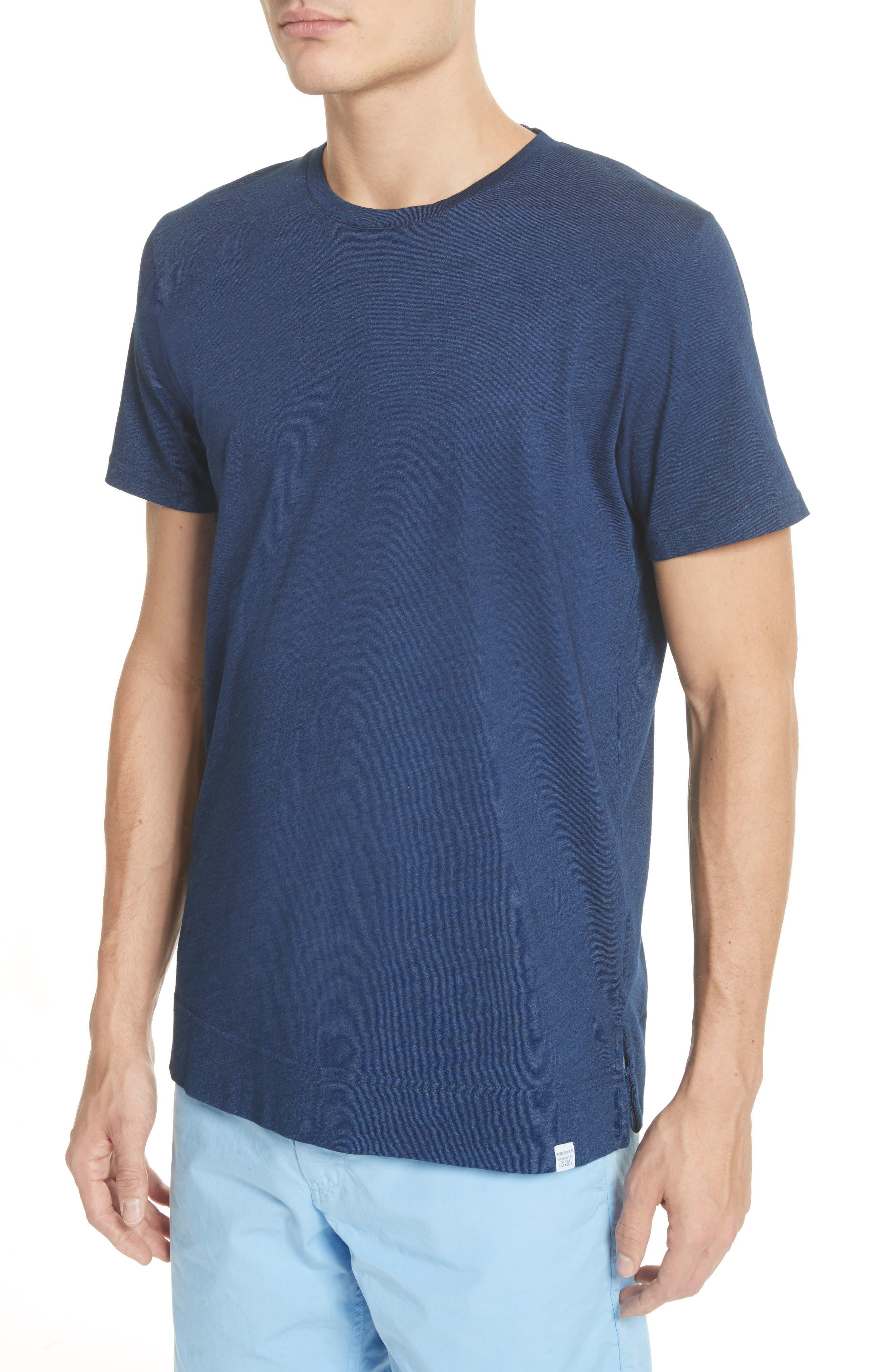 Niels Indigo T-Shirt,                             Alternate thumbnail 3, color,                             Indigo