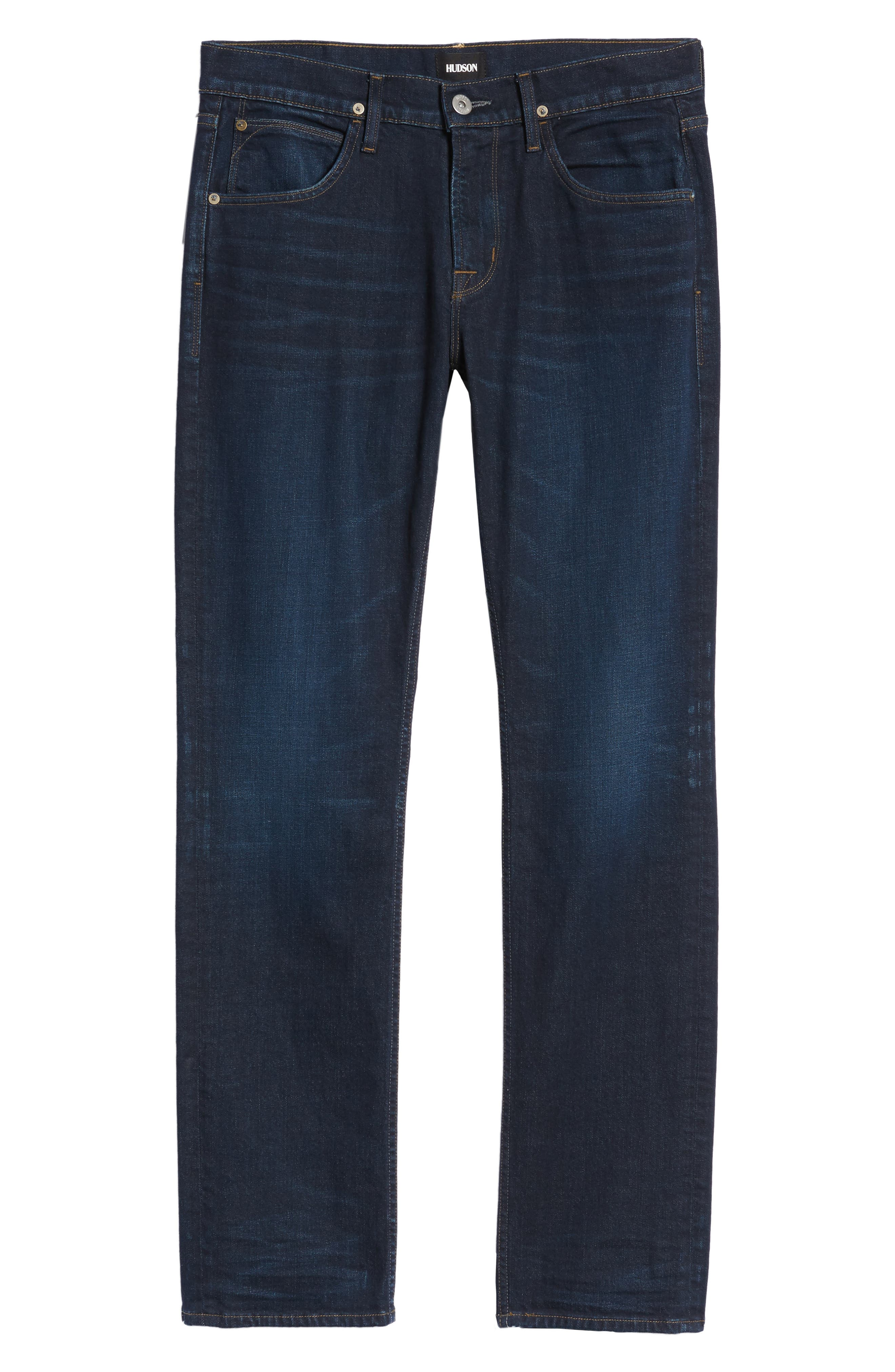 Byron Slim Straight Fit Jeans,                             Alternate thumbnail 6, color,                             Session