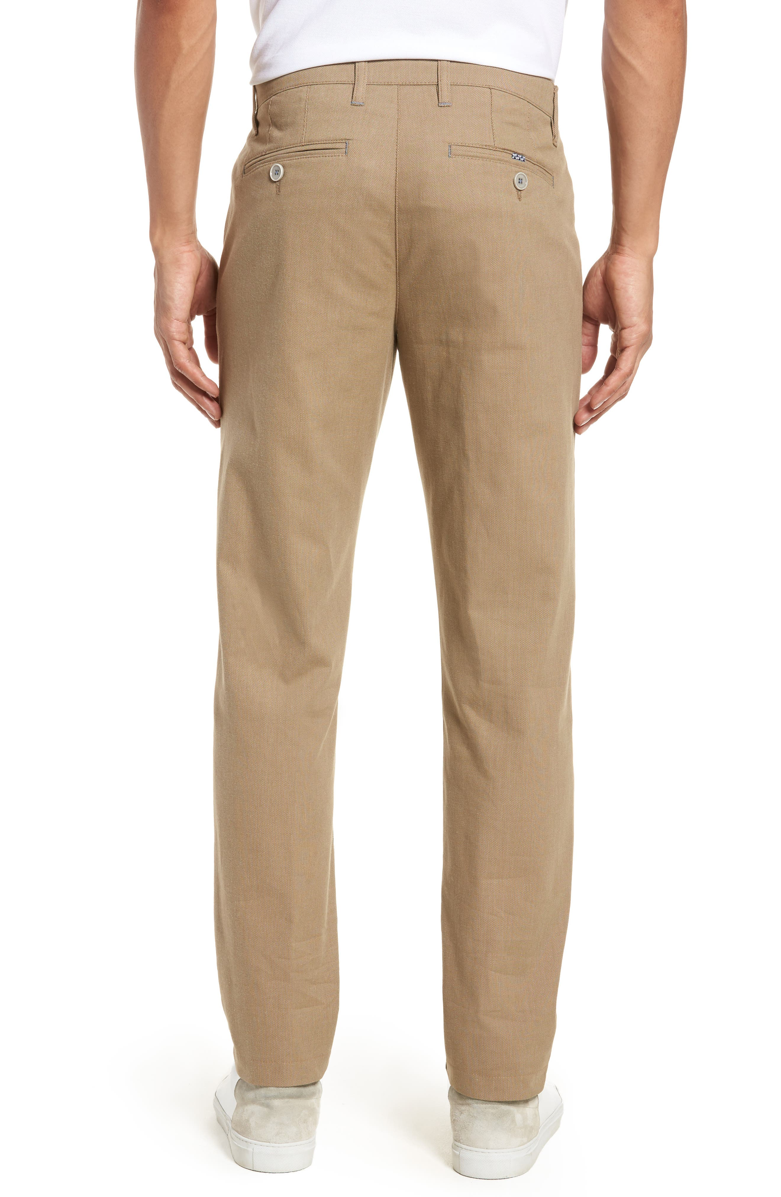Alternate Image 2  - Ted Baker London Holclas Classic Fit Chino Pants