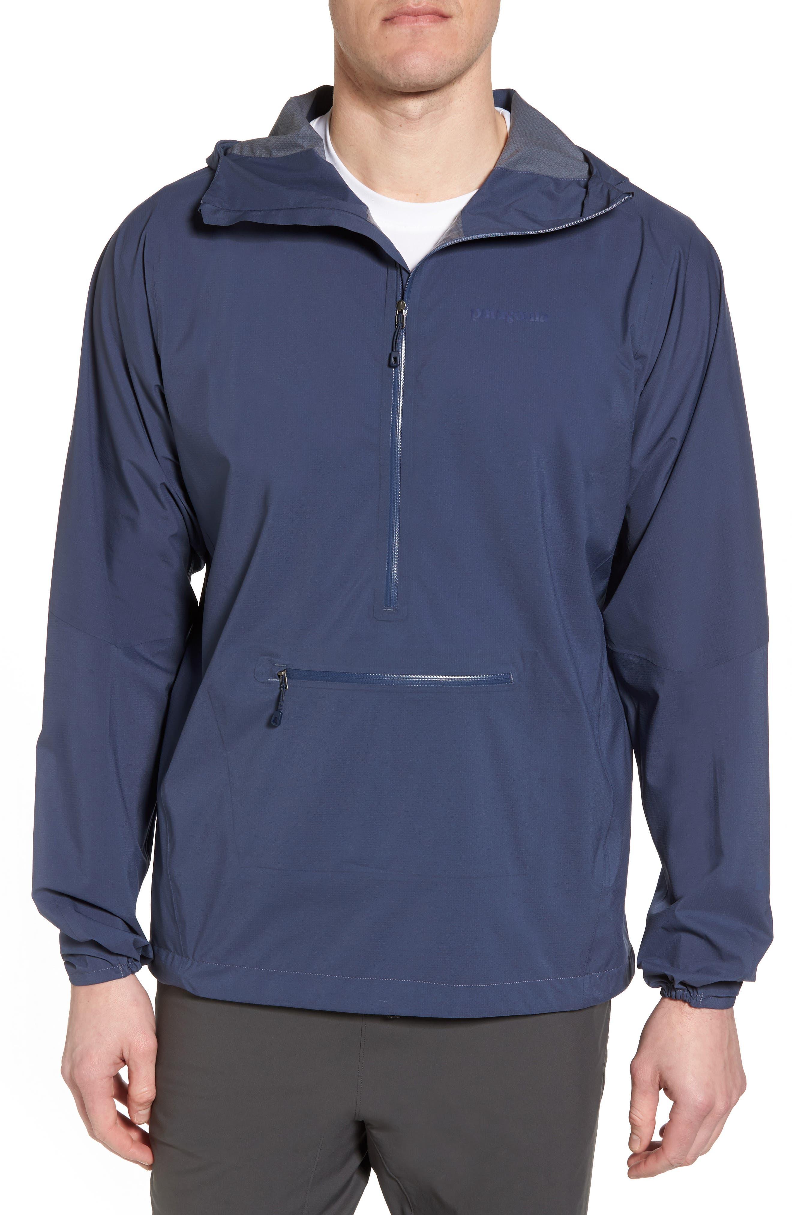 Stretch Rainshadow Jacket,                             Main thumbnail 1, color,                             Dolomite Blue