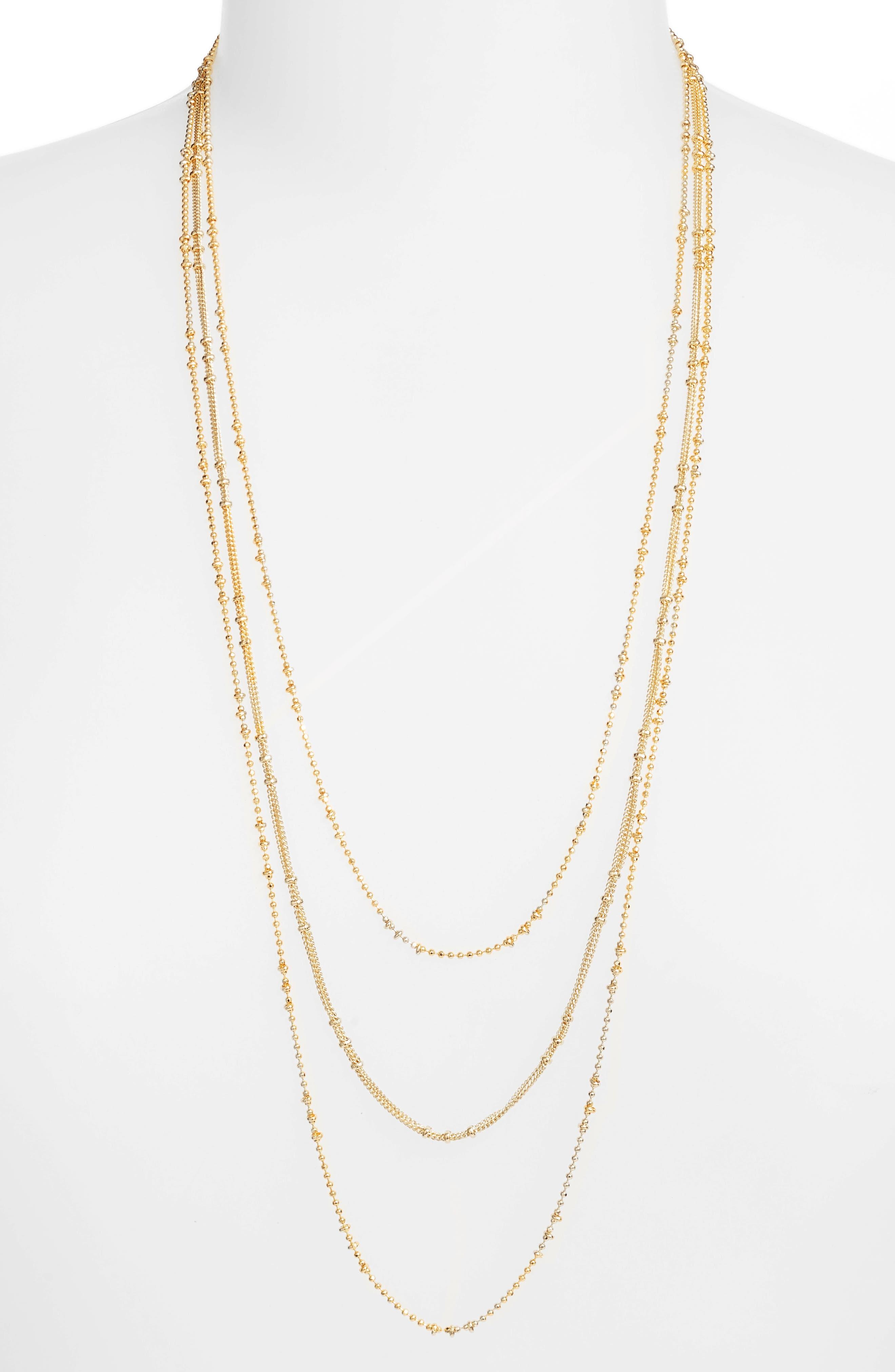 Margo 18 K Layered Chain Necklace by Gorjana