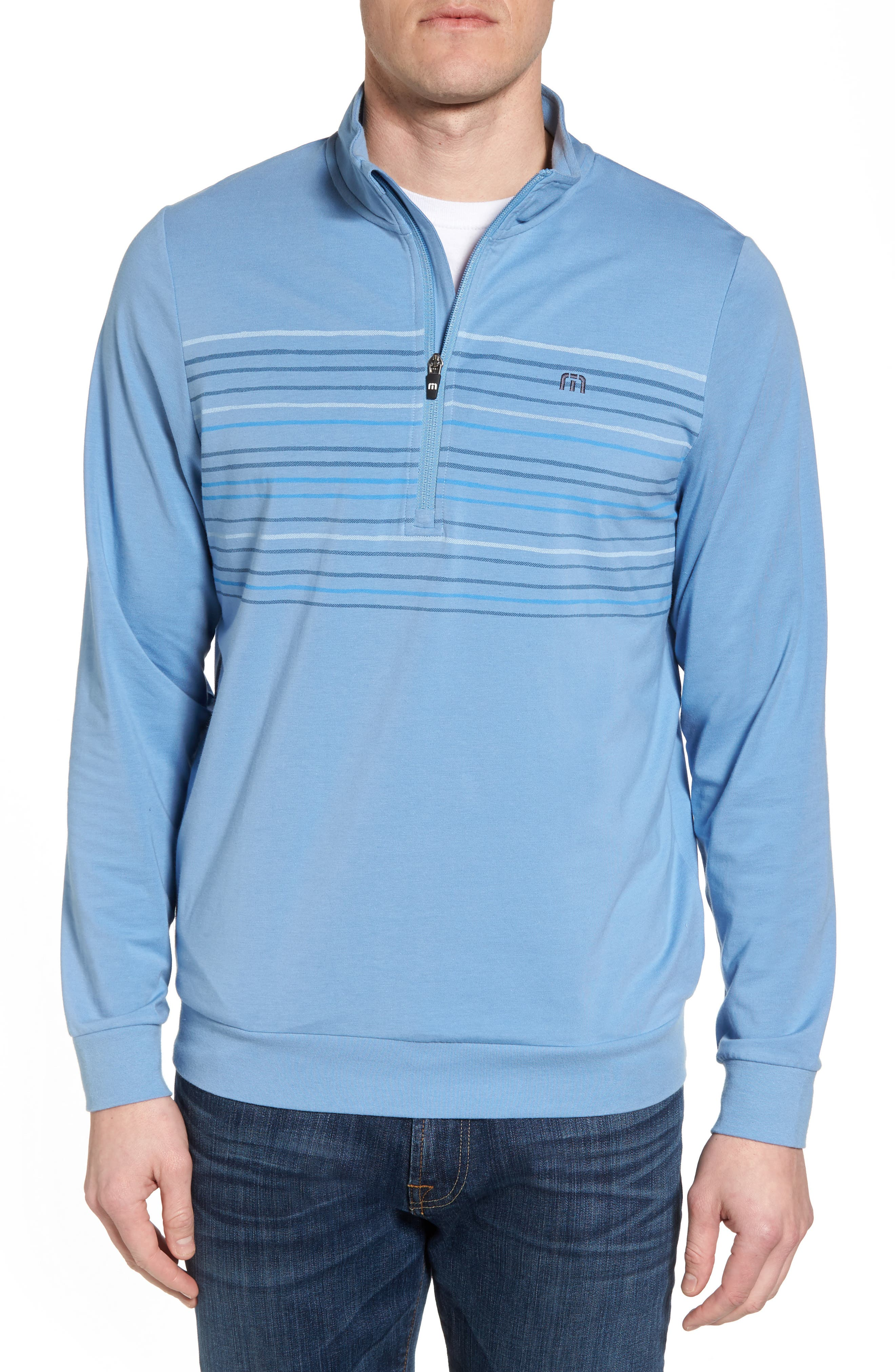 Vesa Quarter Zip Pullover,                             Main thumbnail 1, color,                             Allure