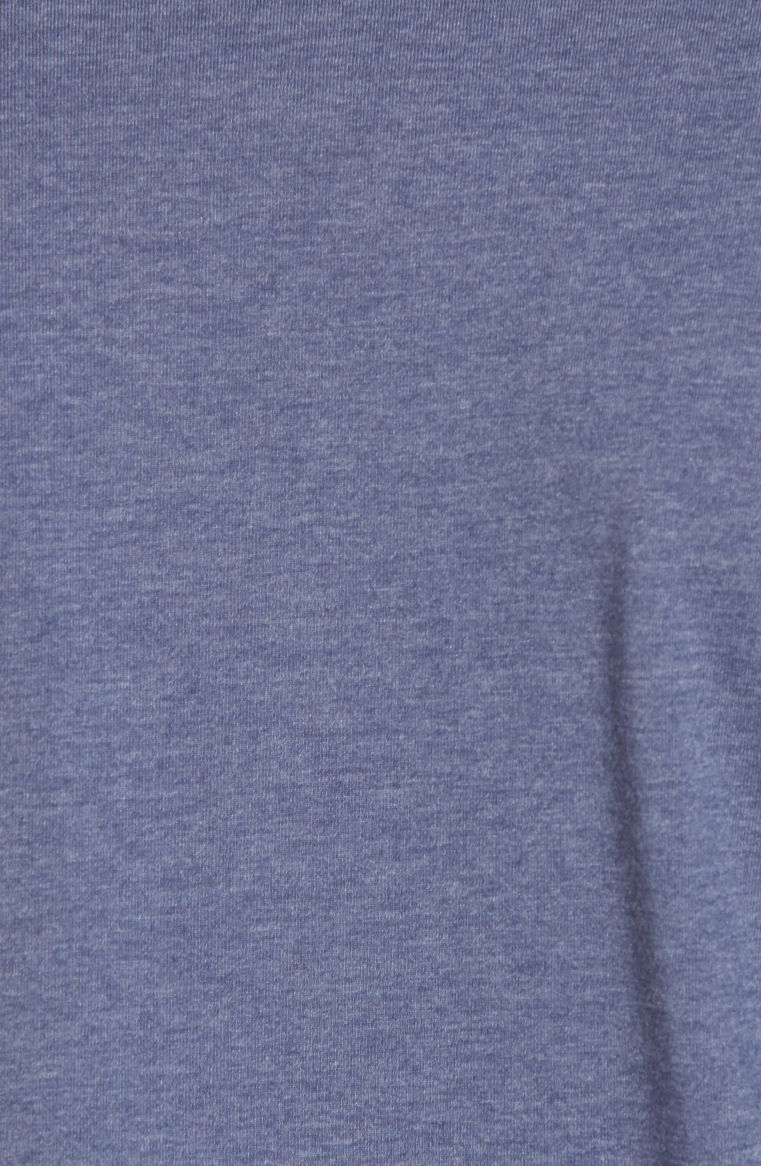 B-Stern Graphic T-Shirt,                             Alternate thumbnail 5, color,                             Heather Blue Nights